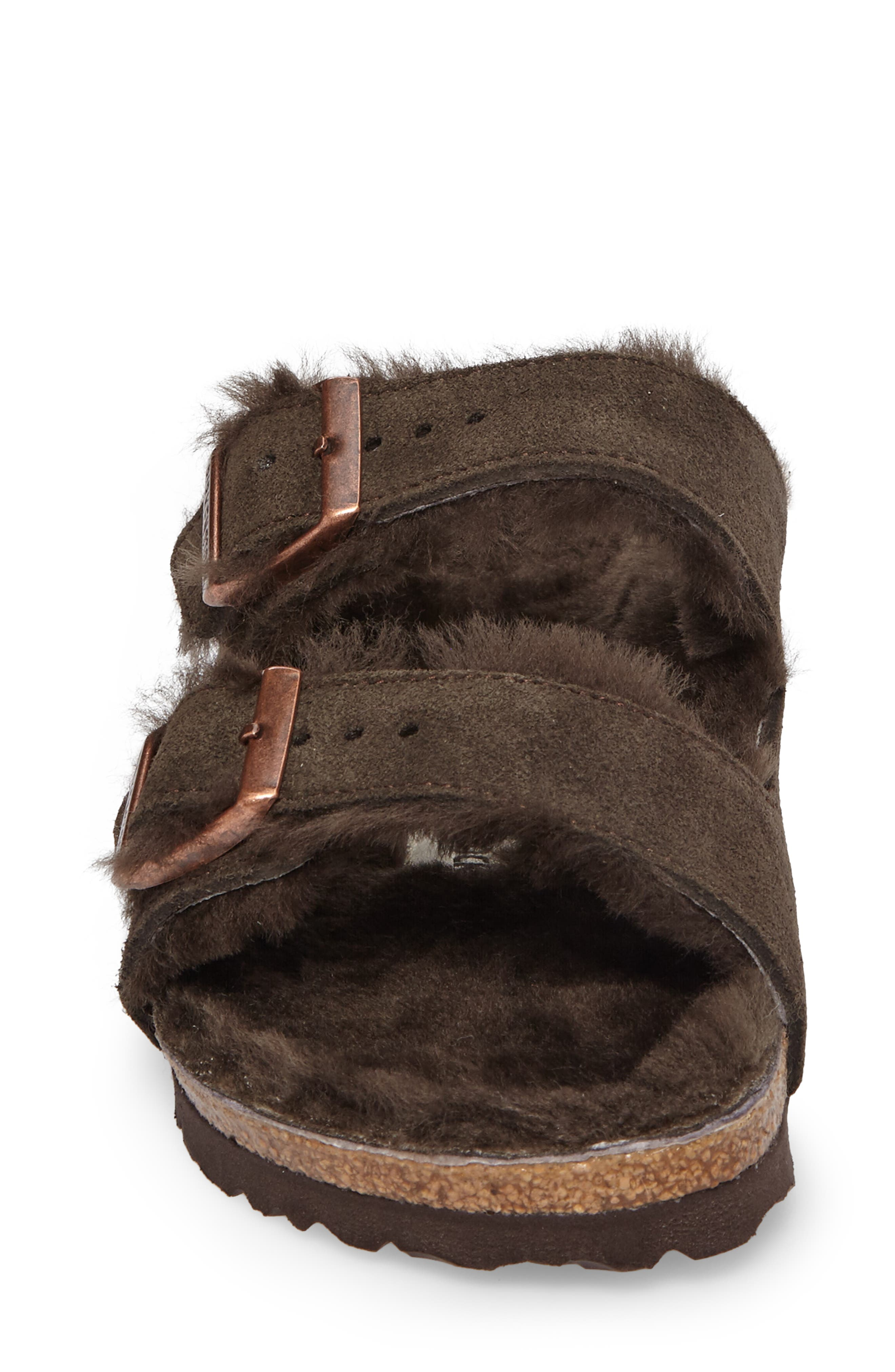 Arizona Genuine Shearling Lined Sandal,                             Alternate thumbnail 4, color,                             200