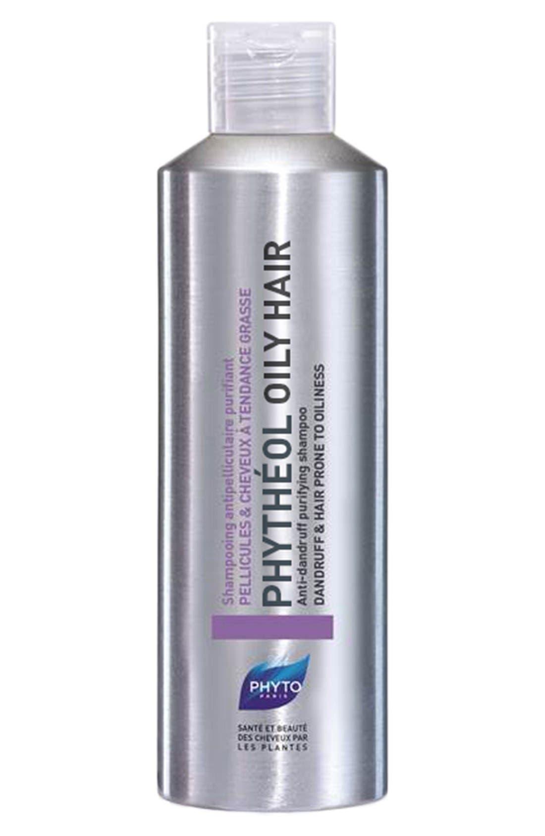 Phythéol Oily Hair Anti-Dandruff Purifying Shampoo,                             Main thumbnail 1, color,                             NO COLOR