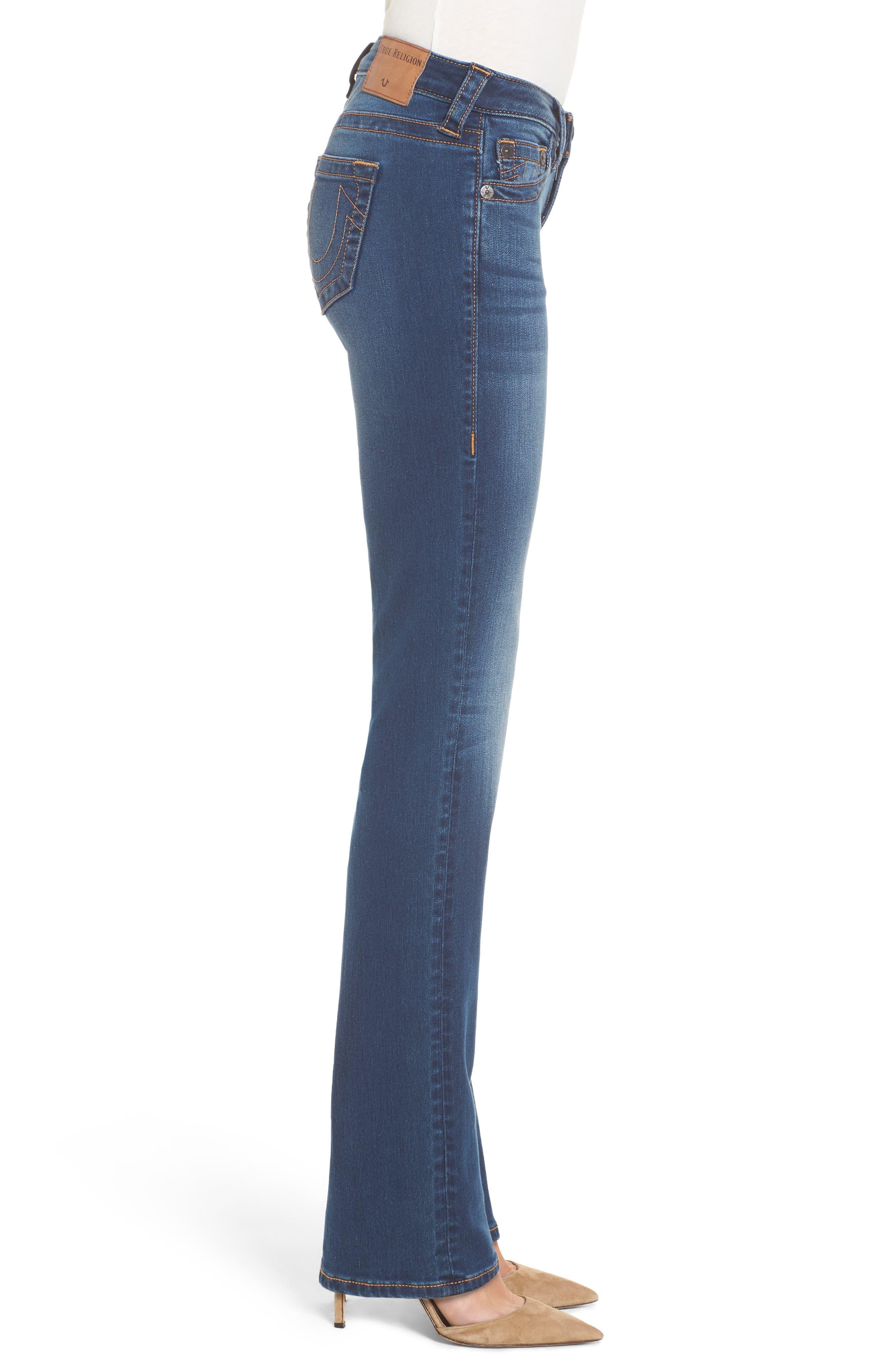 Billie Straight Leg Jeans,                             Alternate thumbnail 3, color,                             400