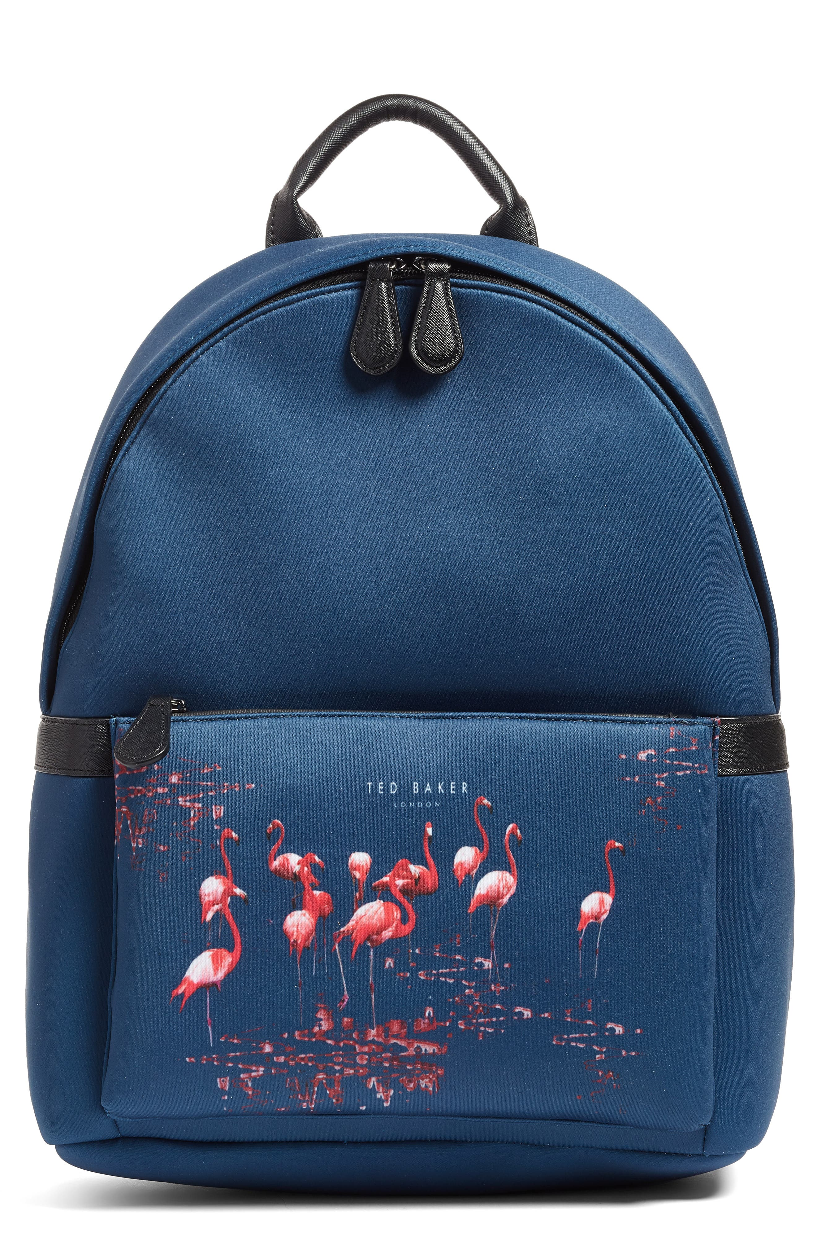 TED BAKER LONDON,                             Print Backpack,                             Main thumbnail 1, color,                             410