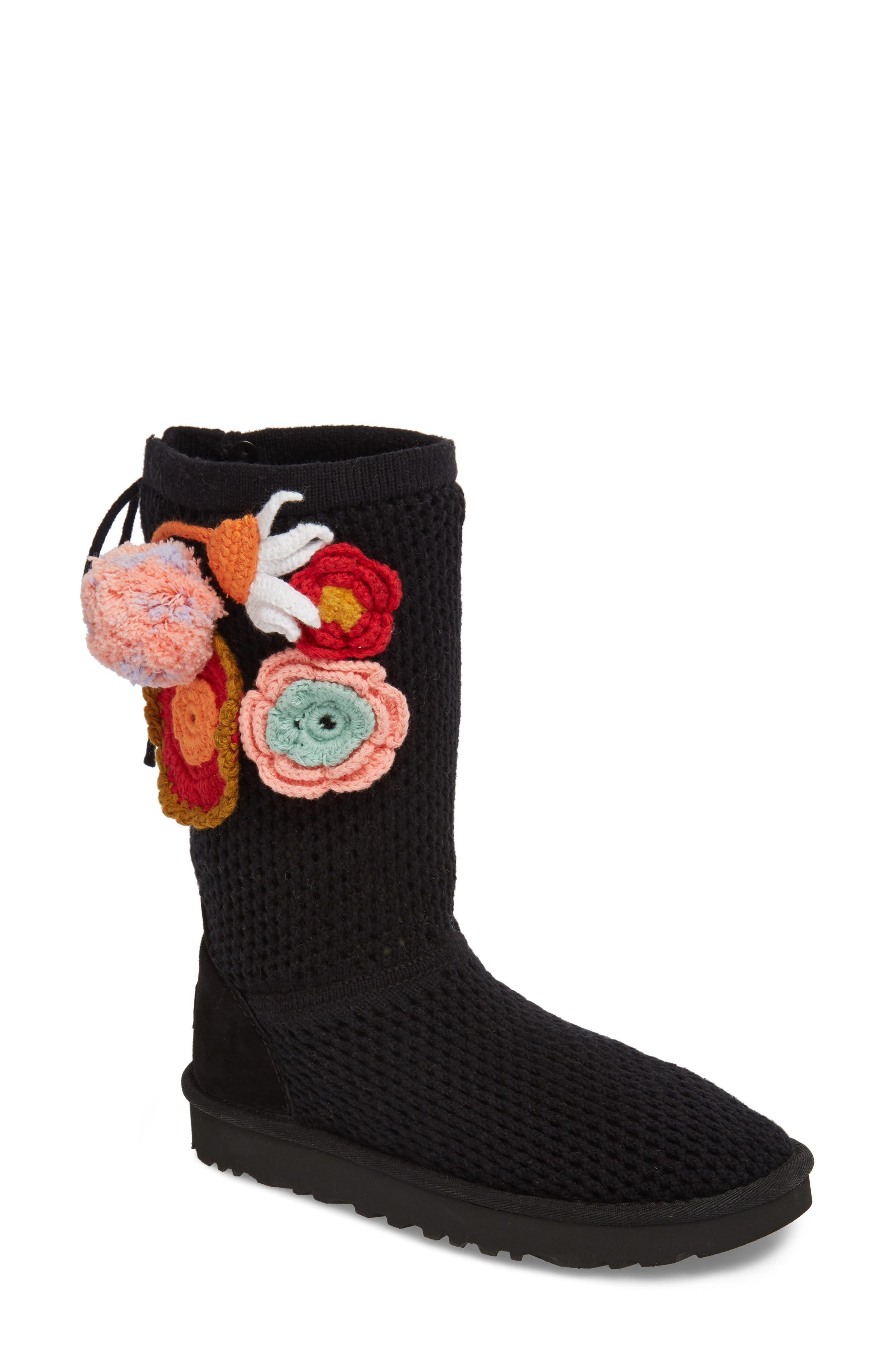 Crochet Classic Tall Boot,                             Main thumbnail 1, color,