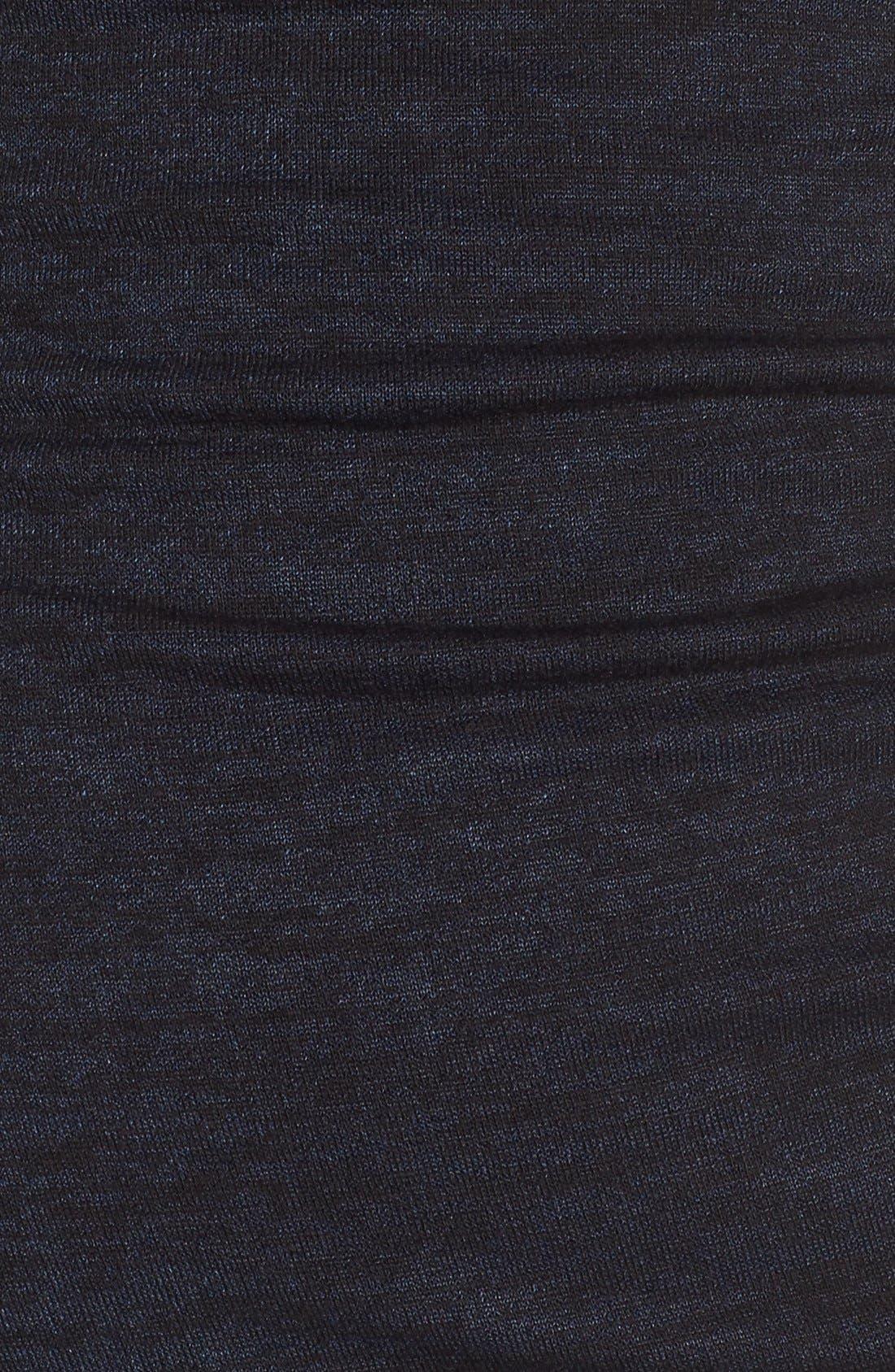 V-Neck Ruched Dress,                             Alternate thumbnail 8, color,