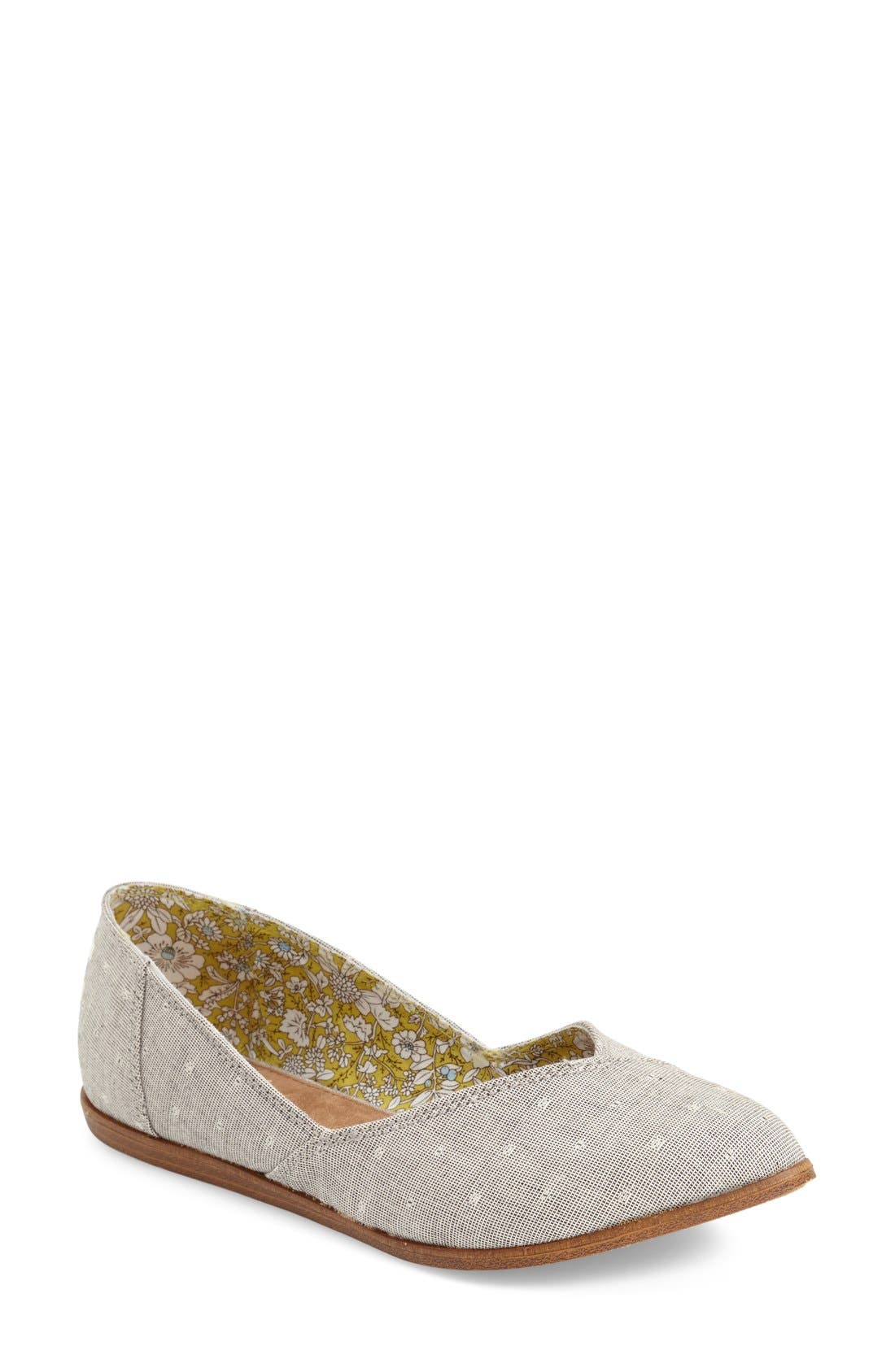 'Jutti' Chambray Flat,                             Main thumbnail 1, color,
