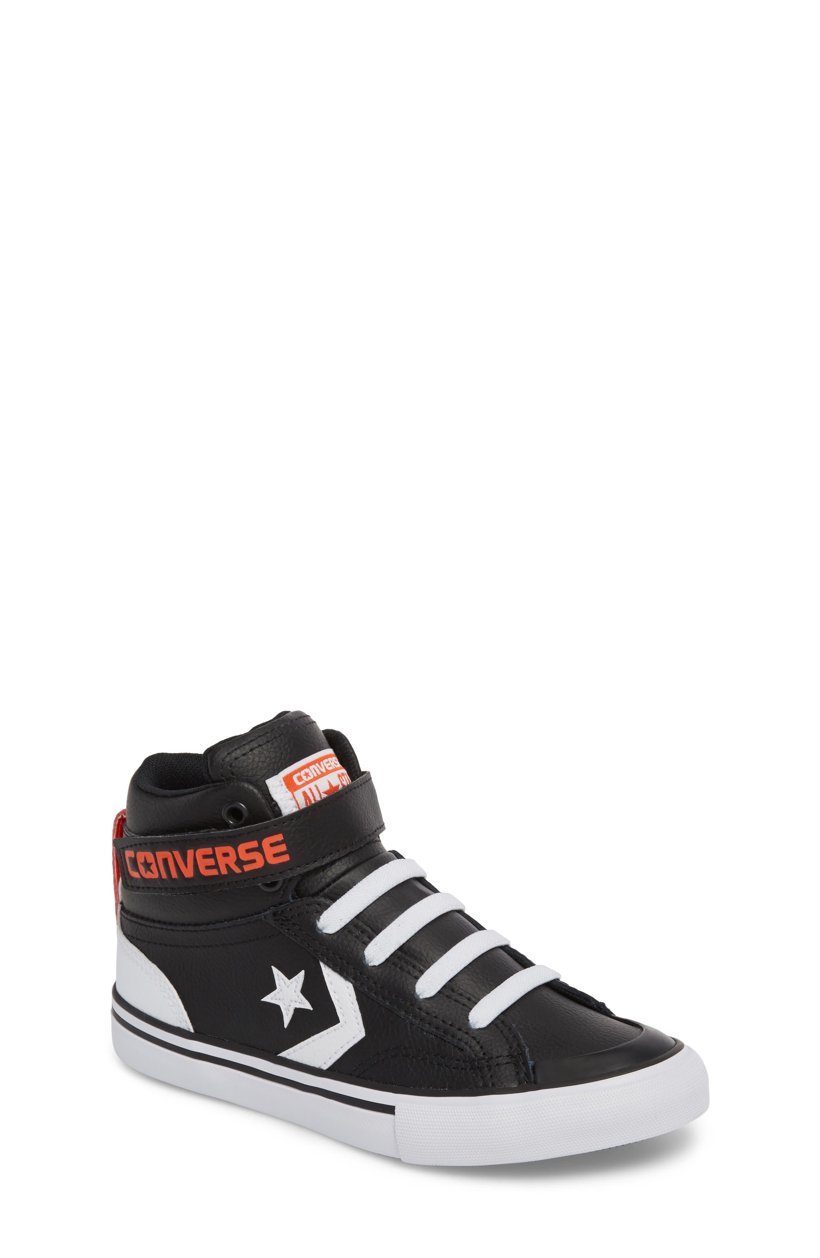 Pro Blaze High Top Sneaker,                             Main thumbnail 1, color,                             001