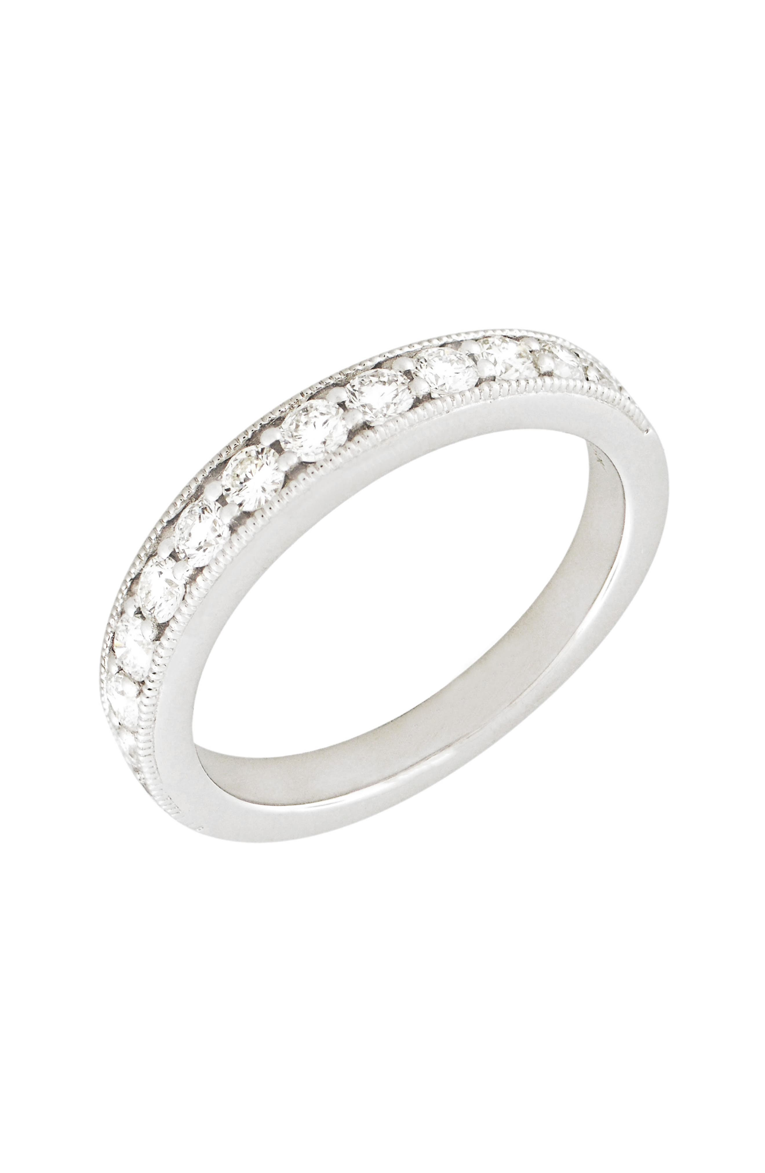 BONY LEVY Stackable Diamond Band Ring, Main, color, 711
