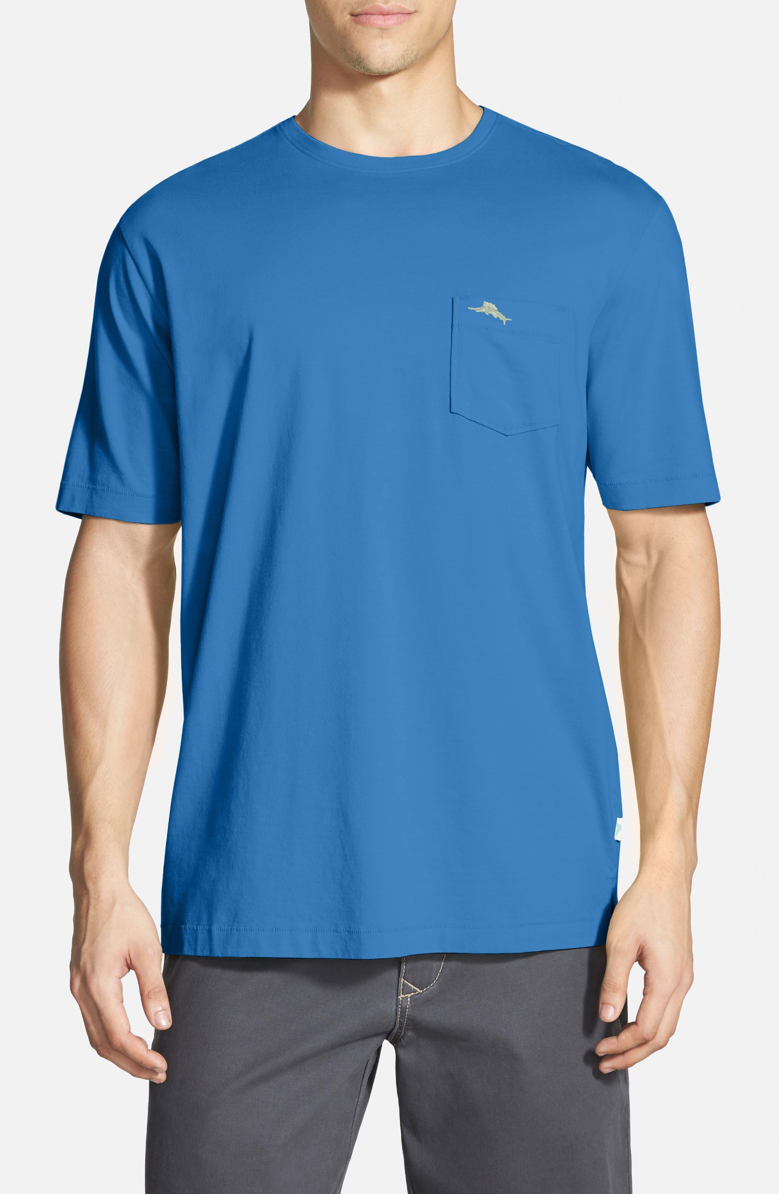 New Bali Sky Pima Cotton Pocket T-Shirt,                             Main thumbnail 34, color,