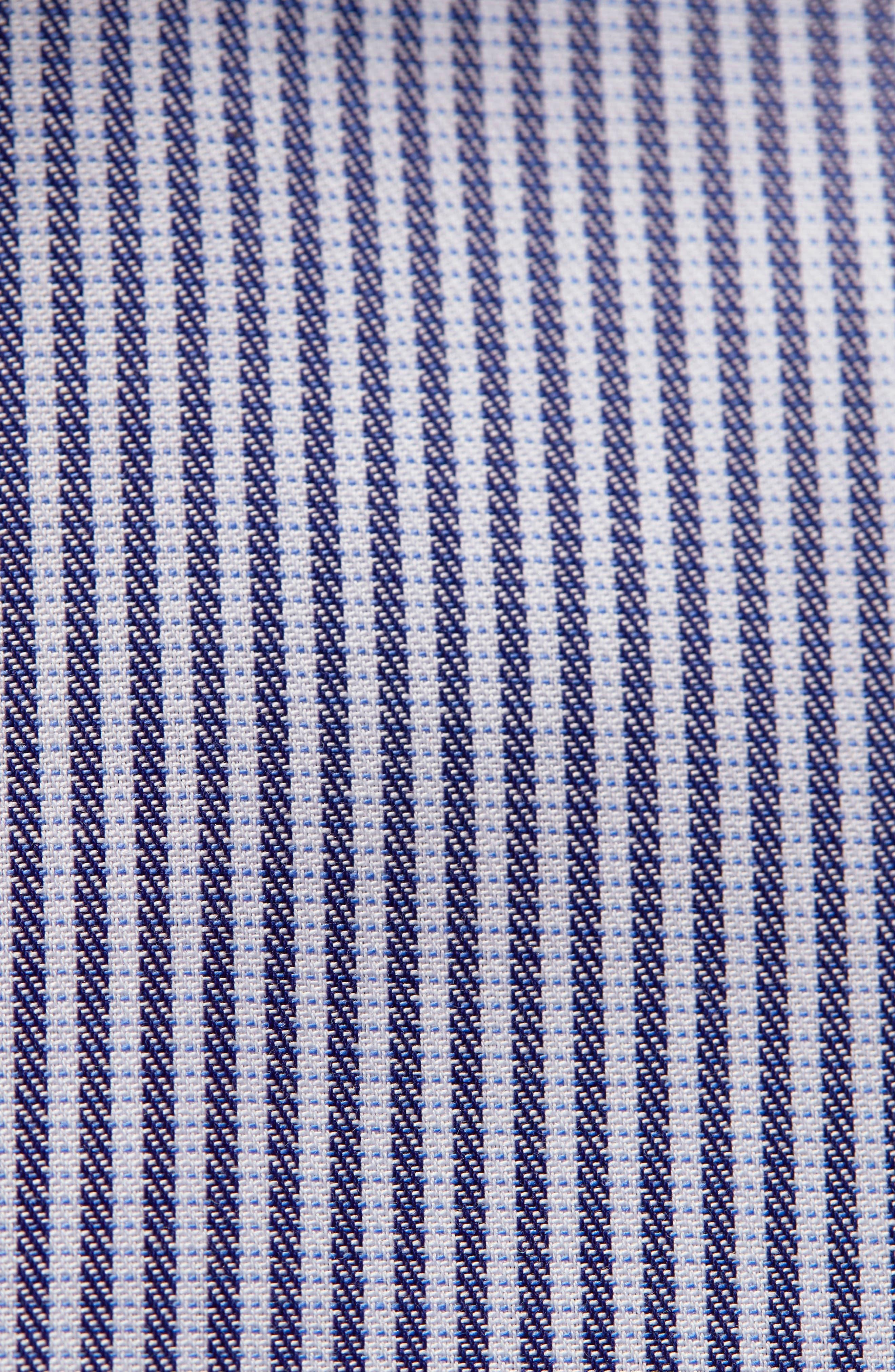 Contemporary Fit Stripe Dress Shirt,                             Alternate thumbnail 2, color,                             400