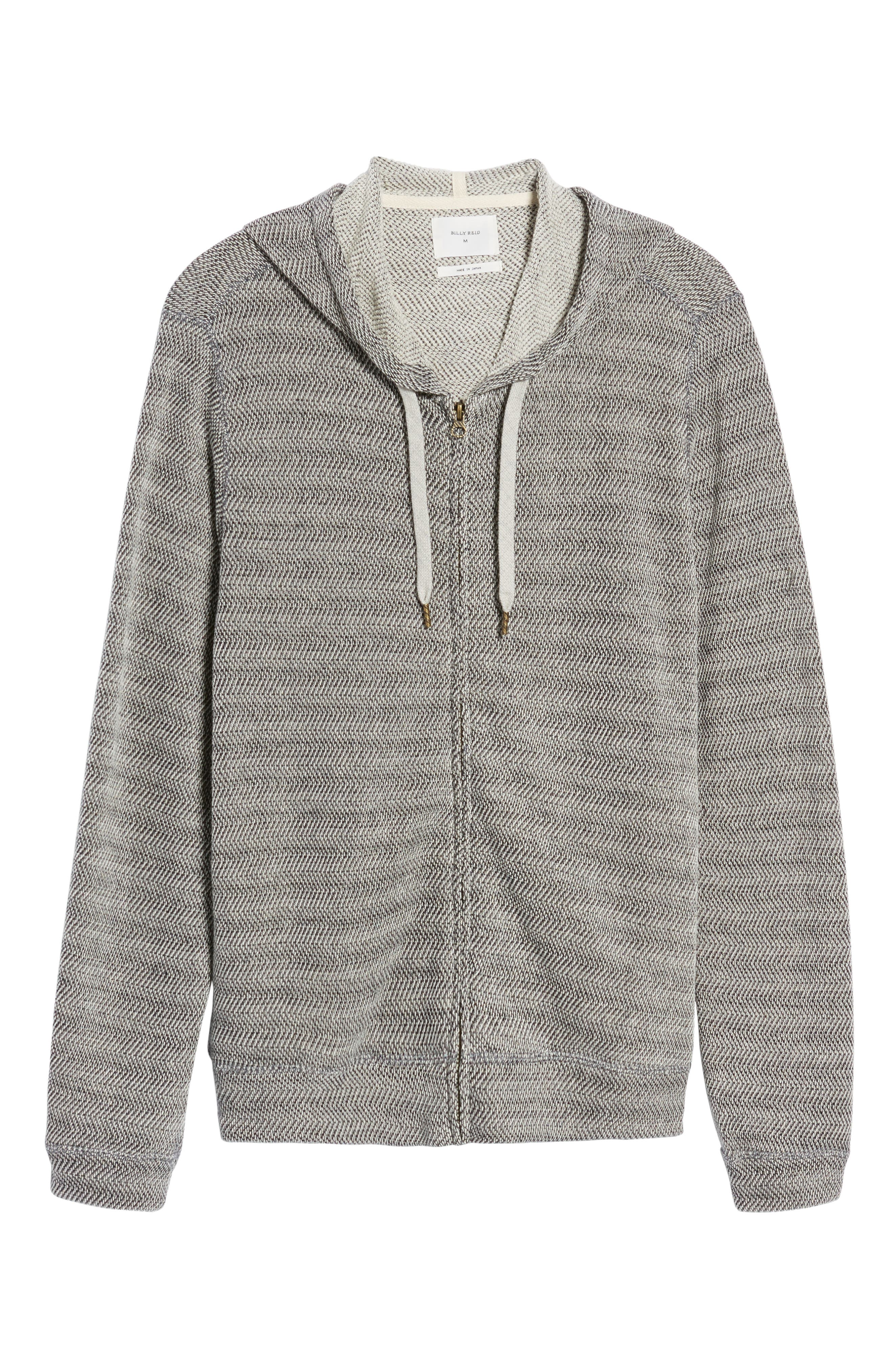 Herringbone Hoodie,                             Alternate thumbnail 6, color,                             010