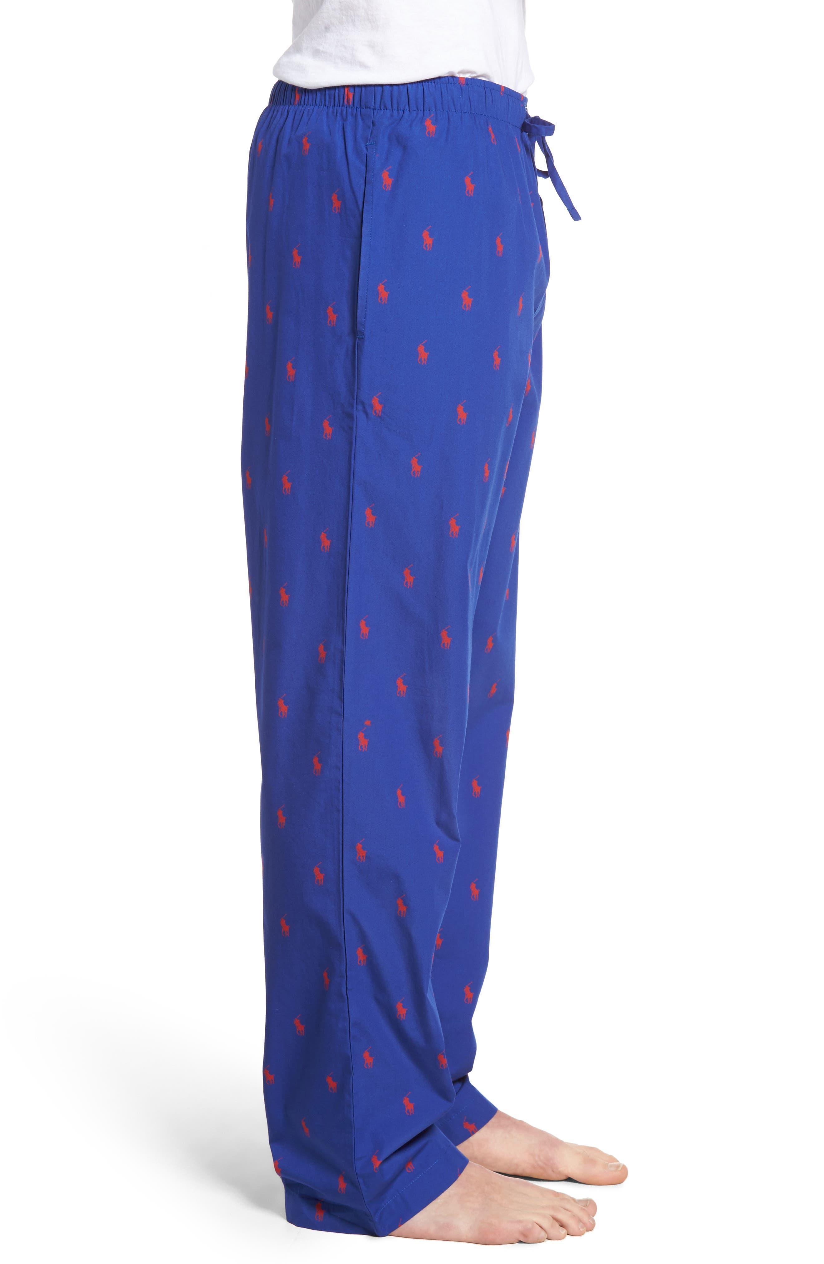 Cotton Lounge Pants,                             Alternate thumbnail 34, color,