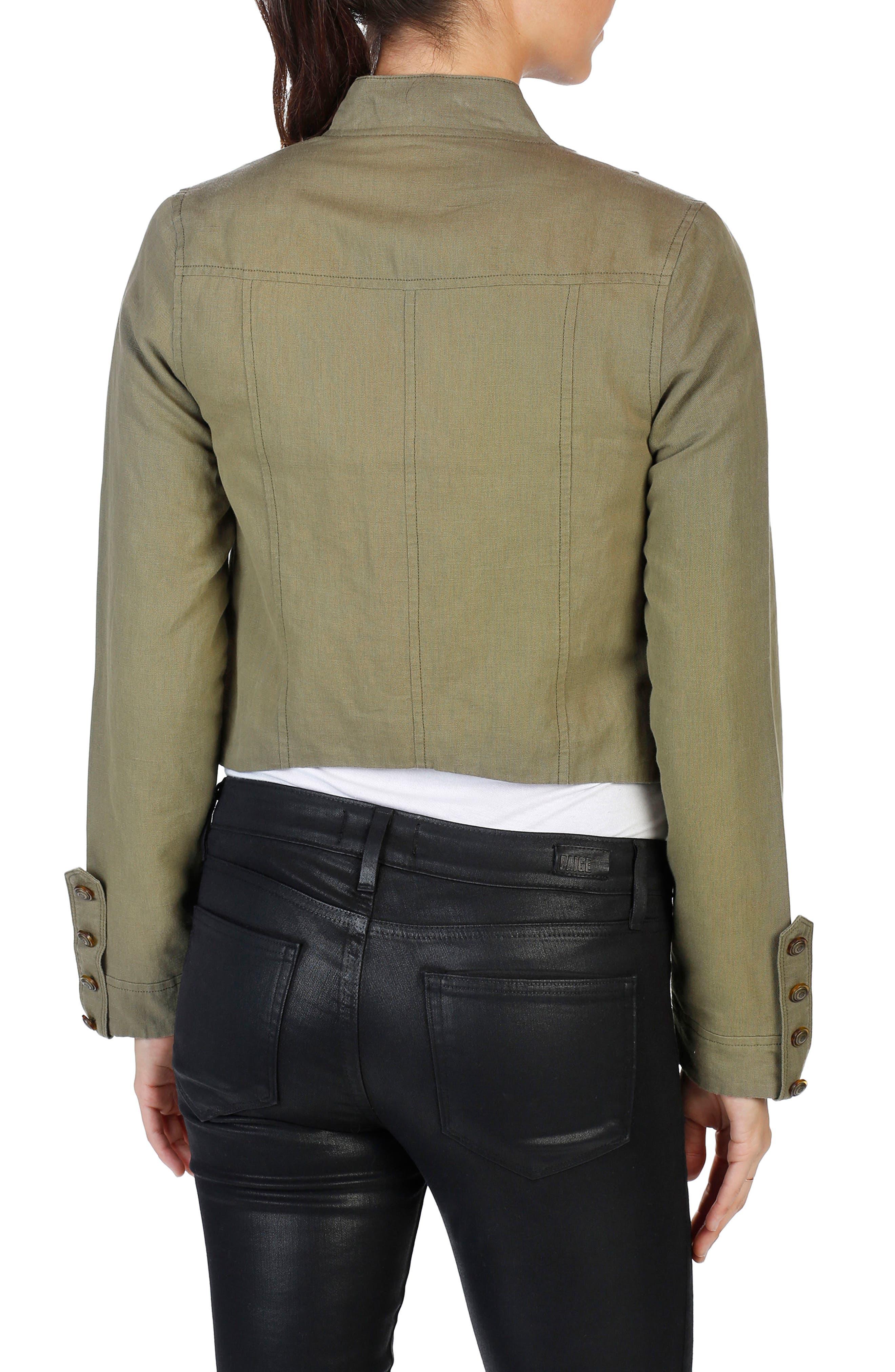 Ashley Military Jacket,                             Alternate thumbnail 2, color,                             309
