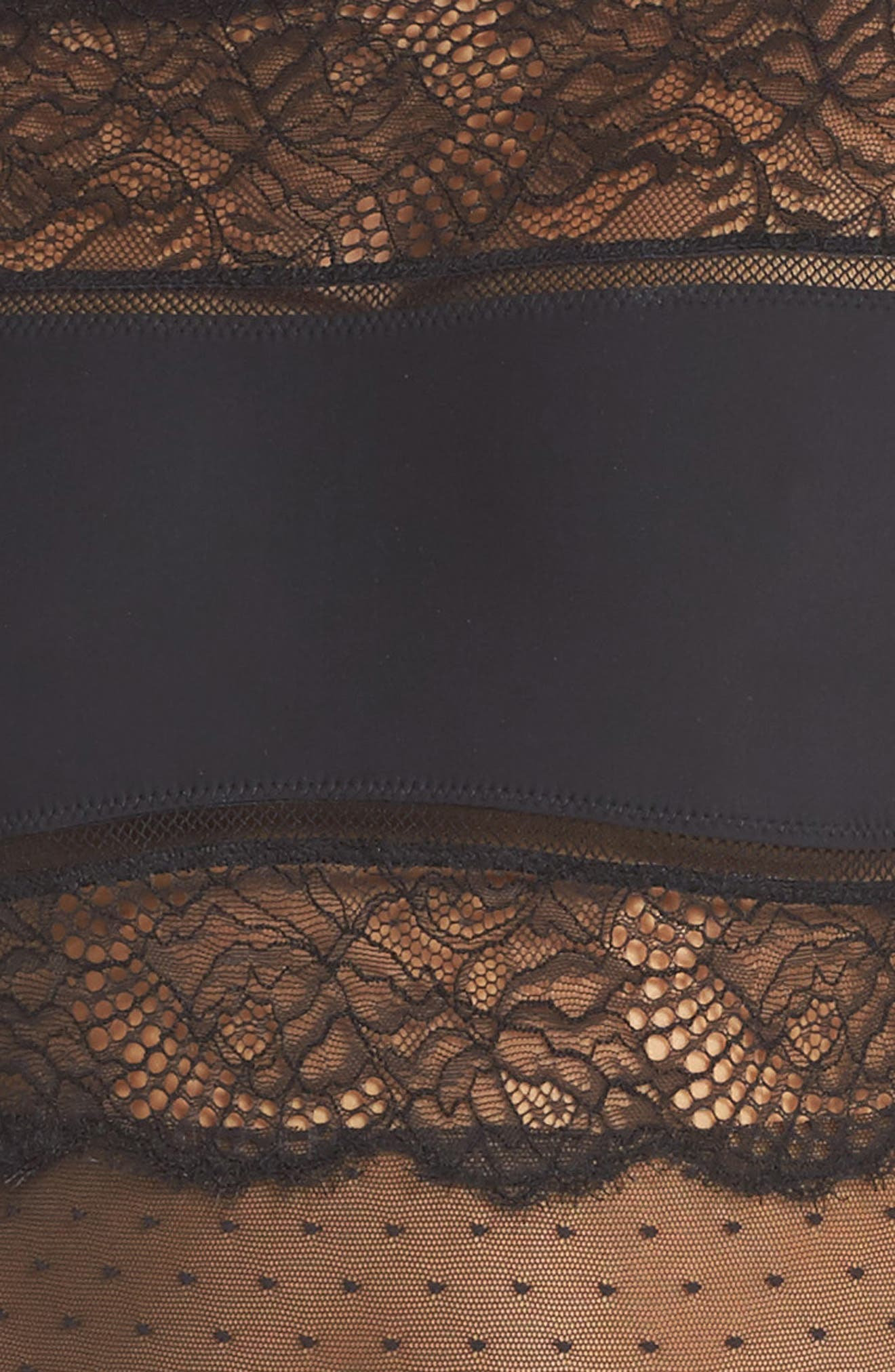 Amore Long Sleeve Bodysuit,                             Alternate thumbnail 4, color,