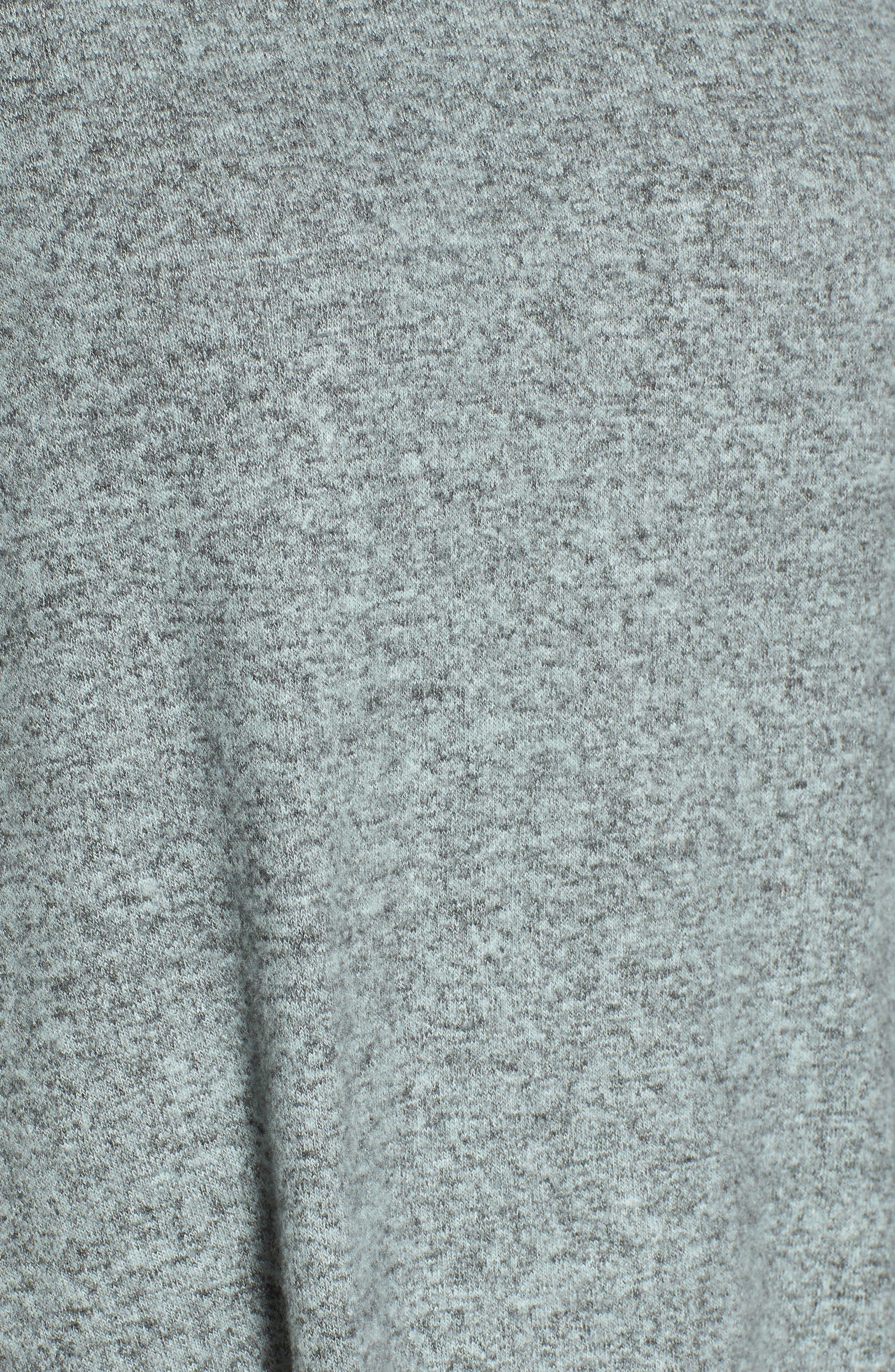 Bell Sleeve Cozy Fleece Pullover,                             Alternate thumbnail 50, color,