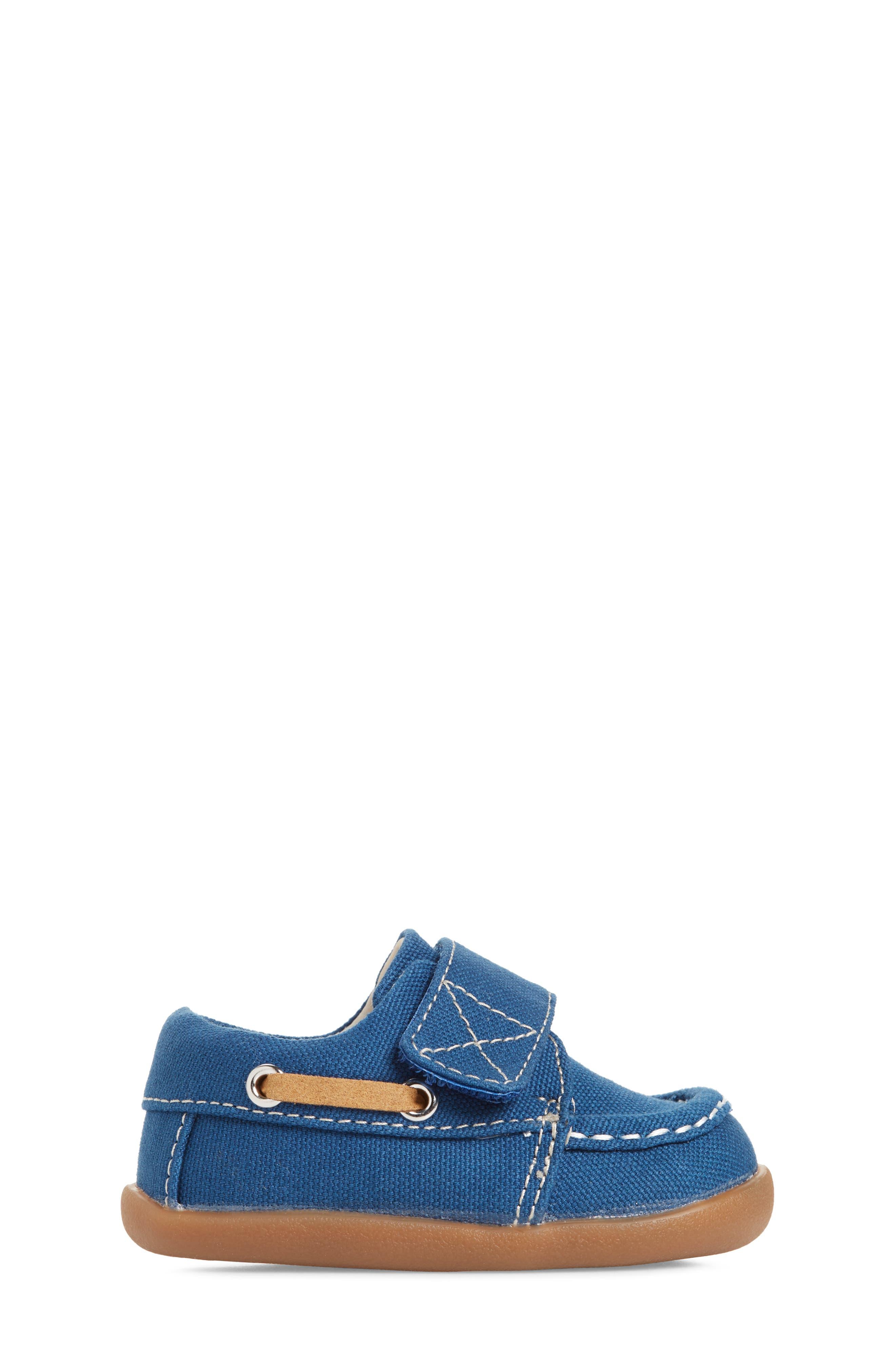 Arthur Sneaker,                             Alternate thumbnail 3, color,                             BLUE CANVAS
