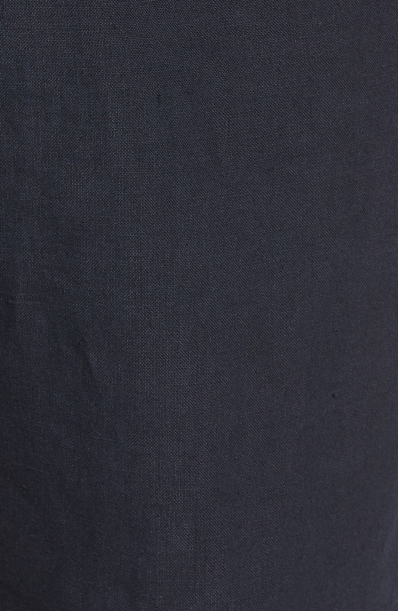 Raw Hem Slim Fit Track Shorts,                             Alternate thumbnail 5, color,                             NEW COASTAL