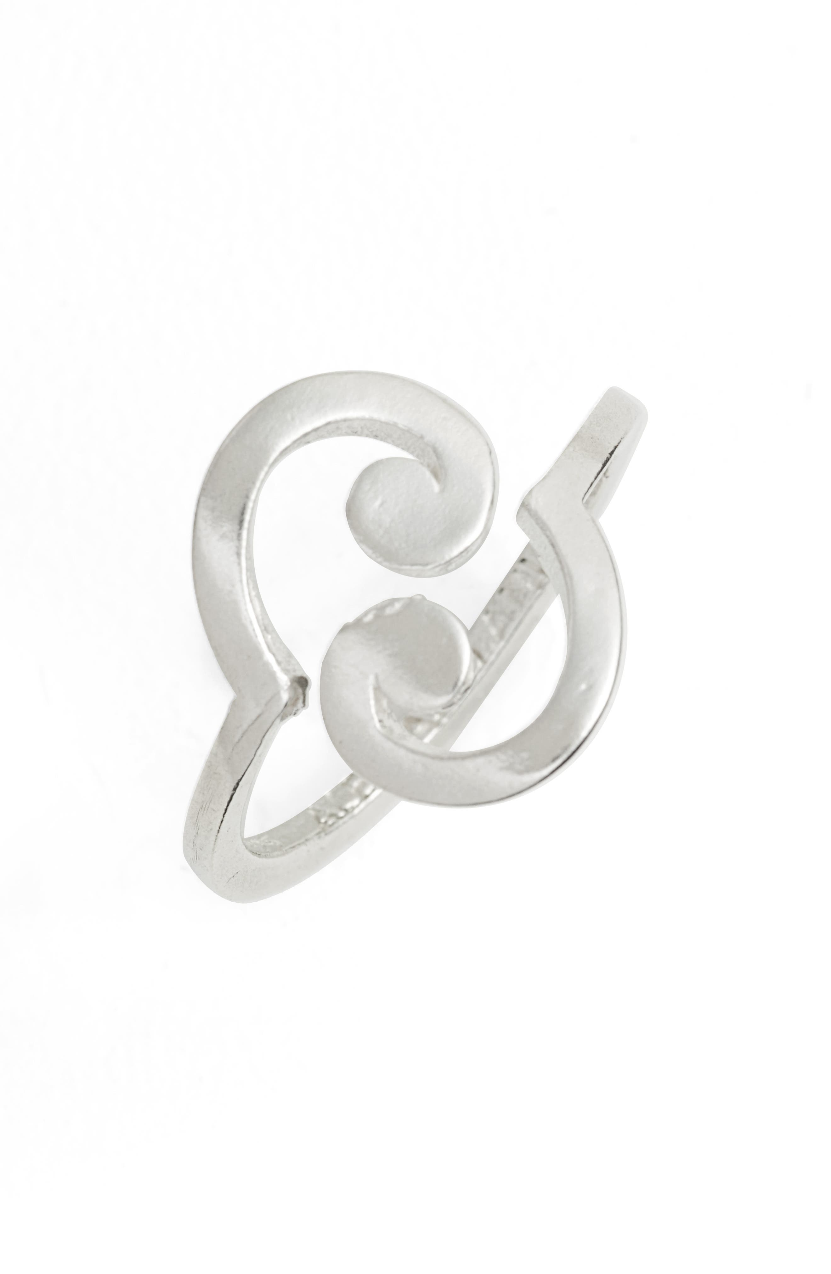 x Disney<sup>®</sup> 'A Wrinkle in Time' Spiral Wrap Ring,                             Main thumbnail 1, color,