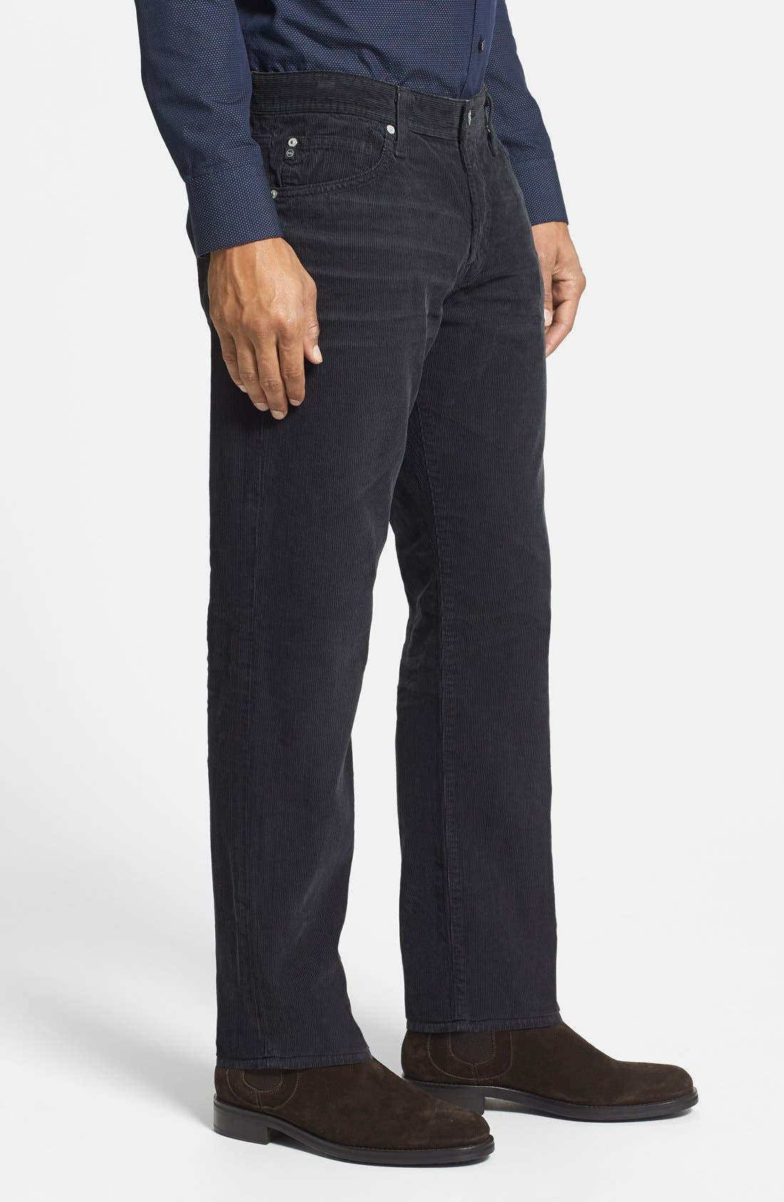 'Graduate' Tailored Straight Leg Corduroy Pants,                             Alternate thumbnail 63, color,