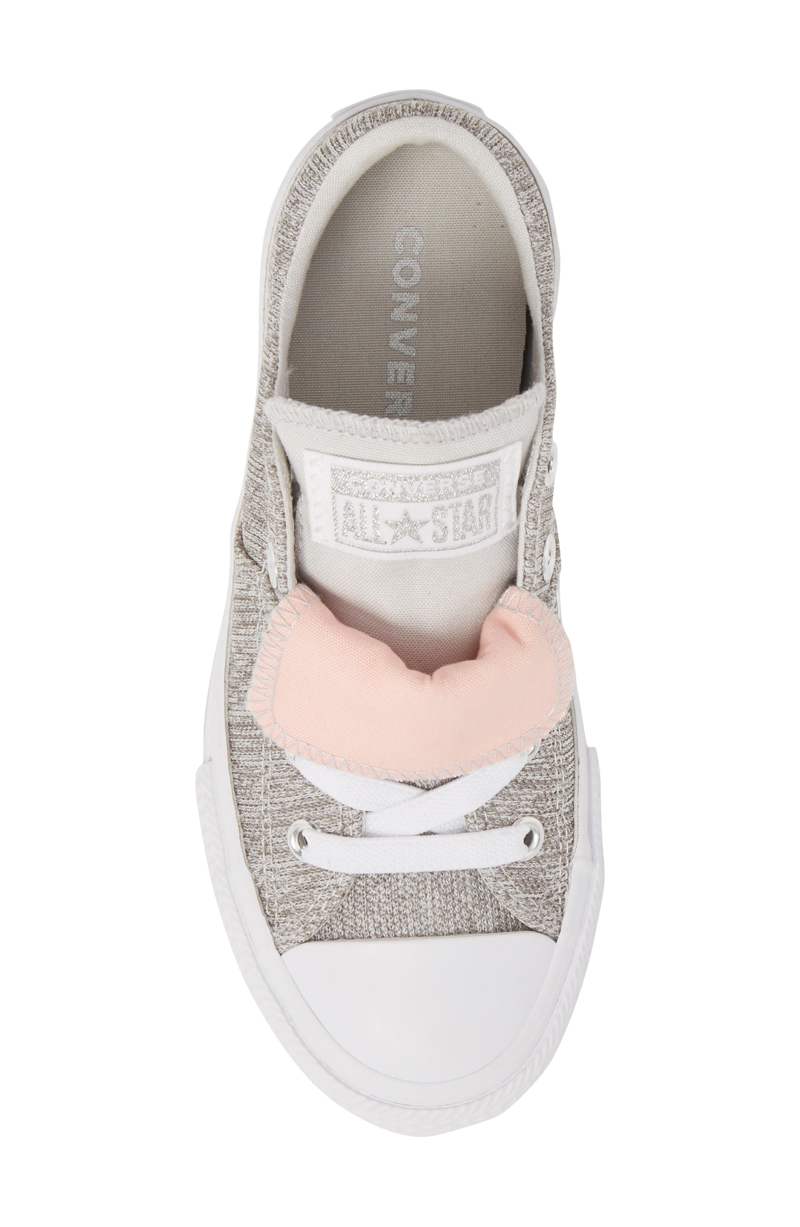 Chuck Taylor<sup>®</sup> All Star<sup>®</sup> Maddie Double Tongue Sneaker,                             Alternate thumbnail 5, color,                             050