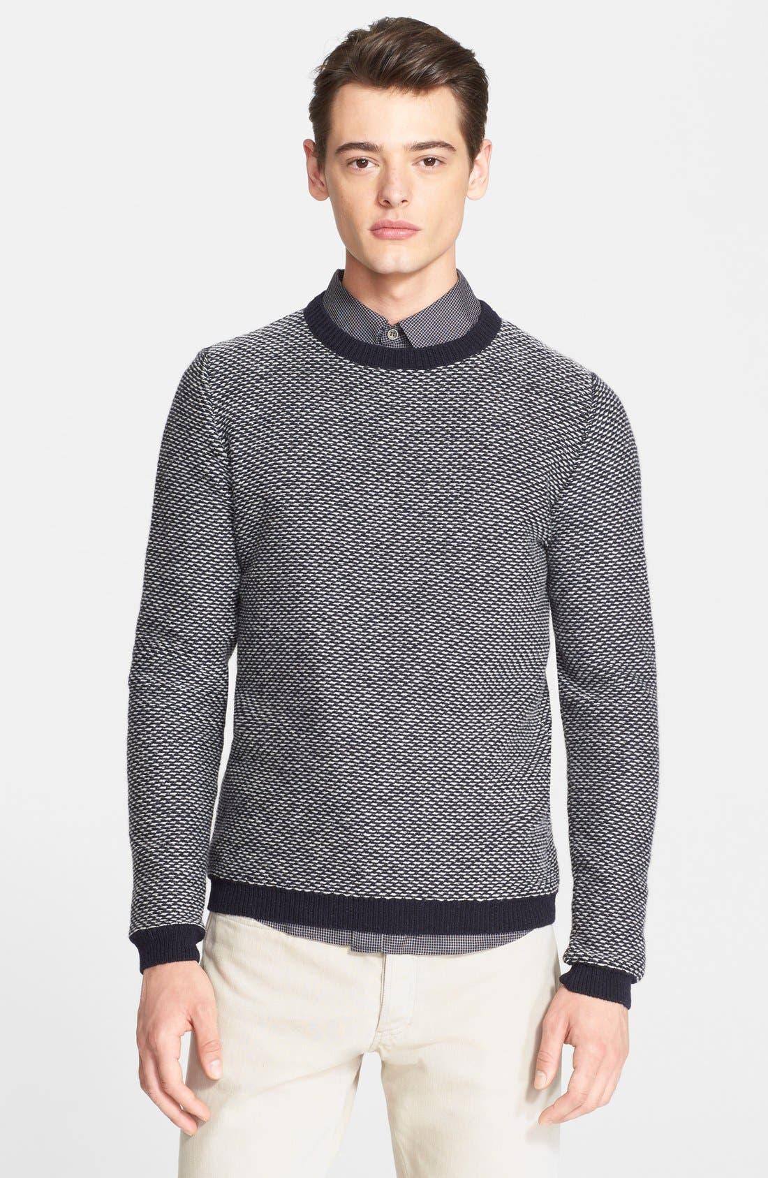 A.P.C. Merino Wool Sweater, Main, color, 410