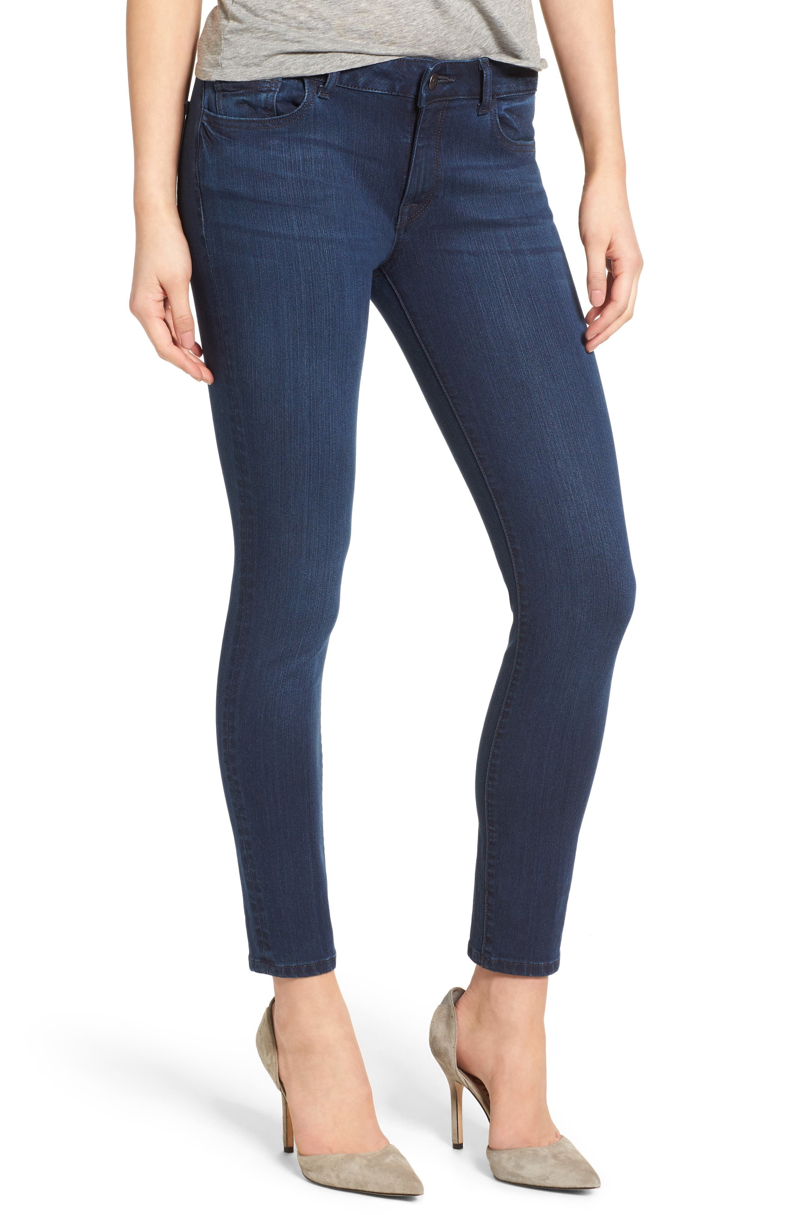 Margaux Instasculpt Ankle Skinny Jeans,                             Main thumbnail 1, color,                             405