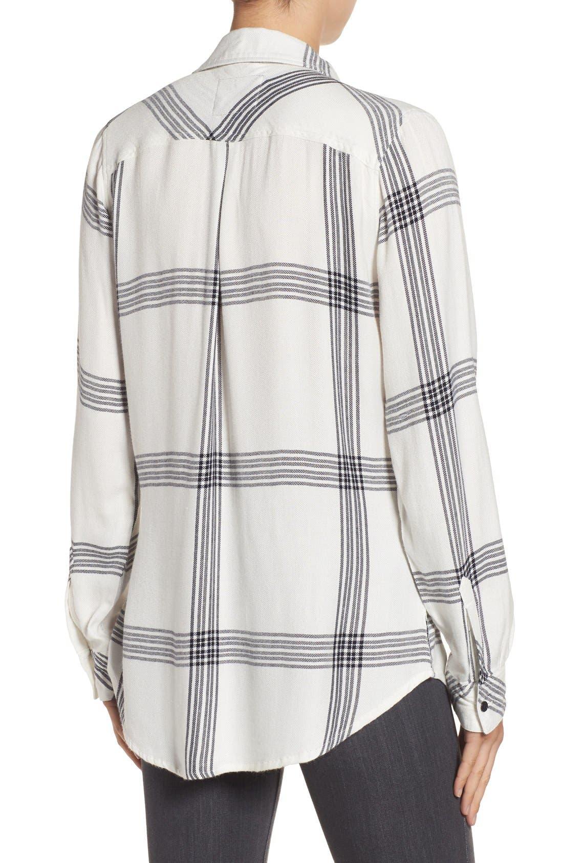 Hunter Plaid Shirt,                             Alternate thumbnail 385, color,
