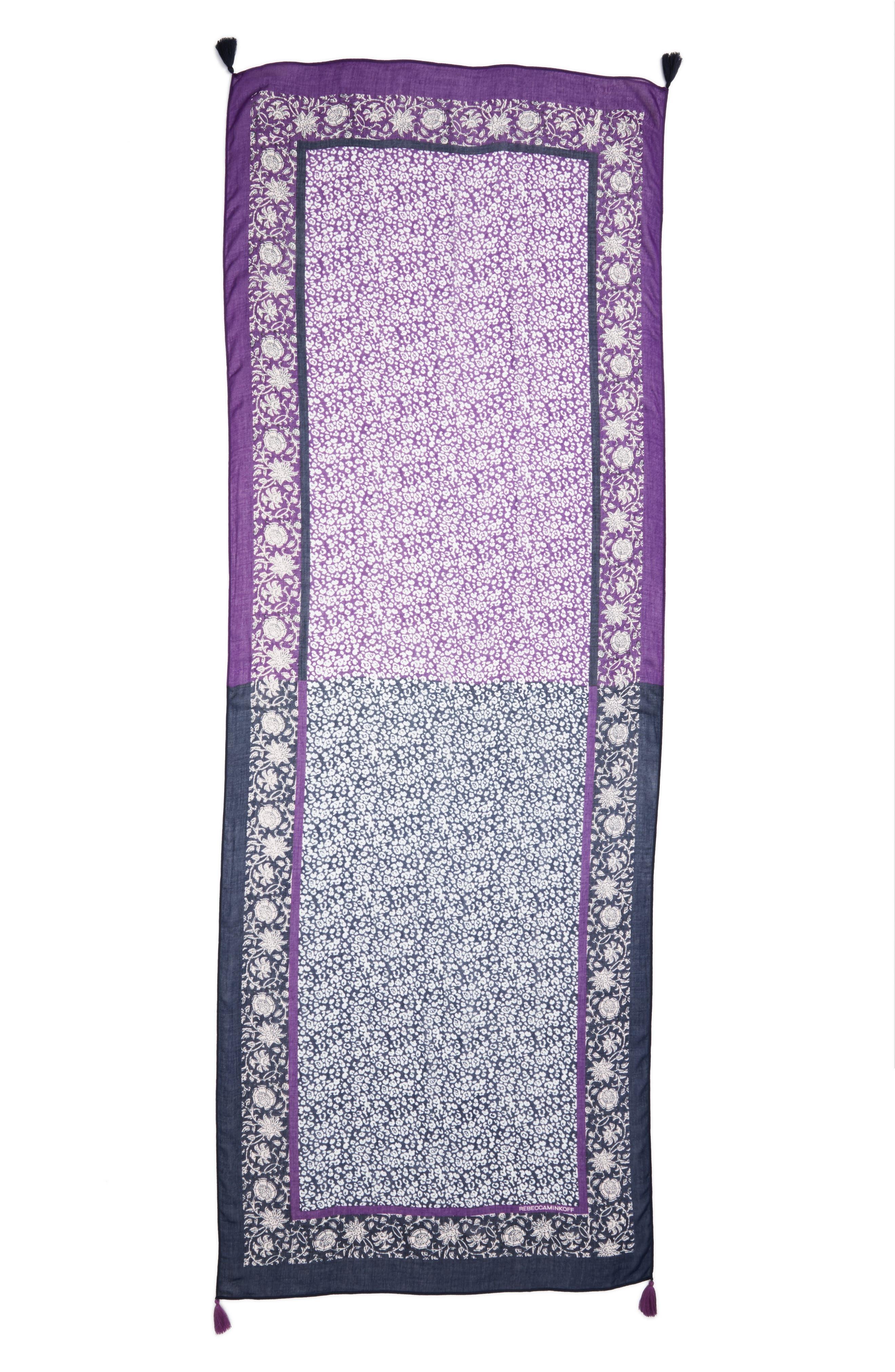 Baby Leopard Batik Print Scarf,                             Alternate thumbnail 3, color,                             400