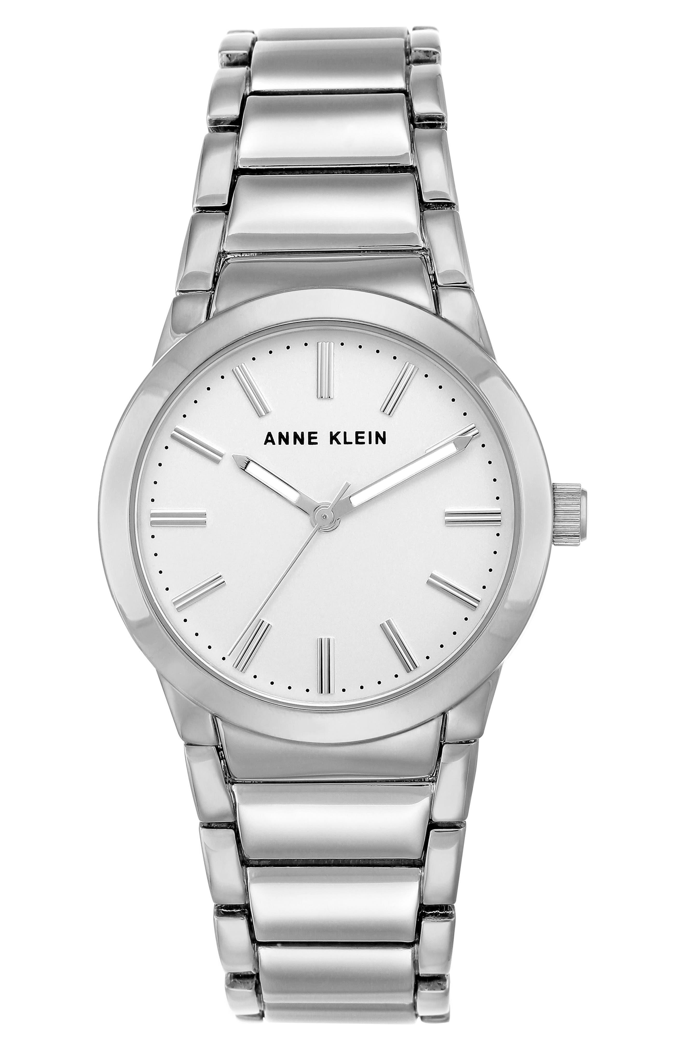 Link Bracelet Watch, 32.5mm,                             Main thumbnail 1, color,                             040