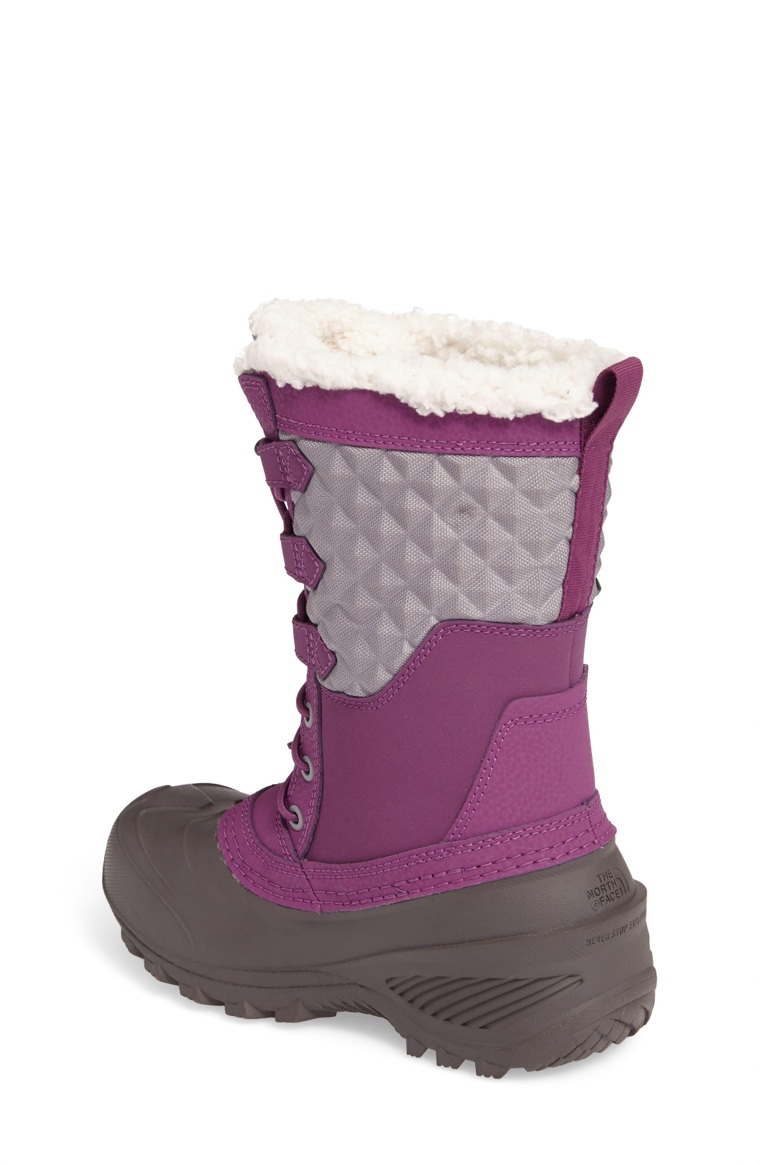 Shellista Lace III Faux Fur Waterproof Boot,                             Alternate thumbnail 6, color,