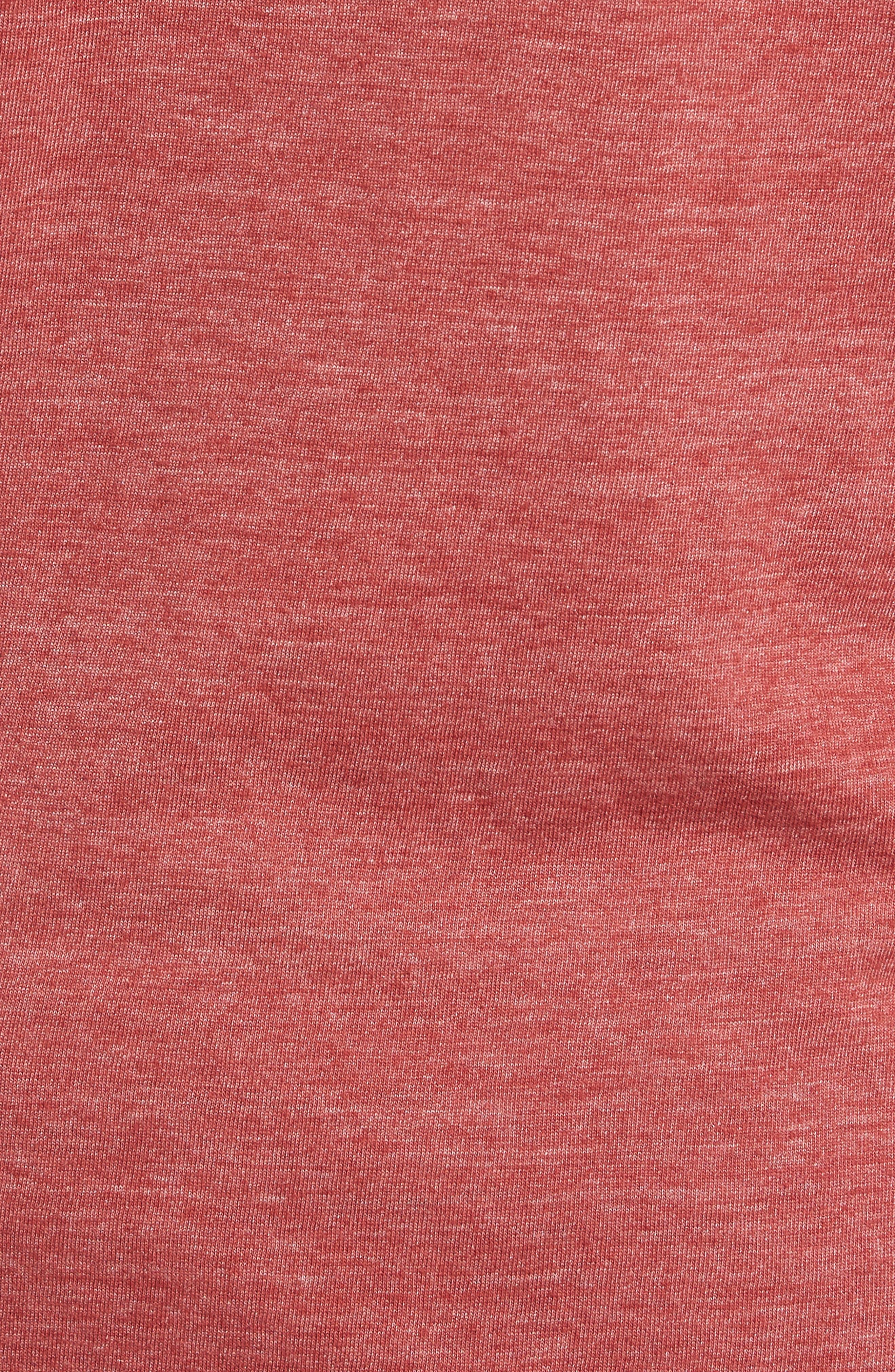 Scallop Triblend Crewneck T-Shirt,                             Alternate thumbnail 105, color,