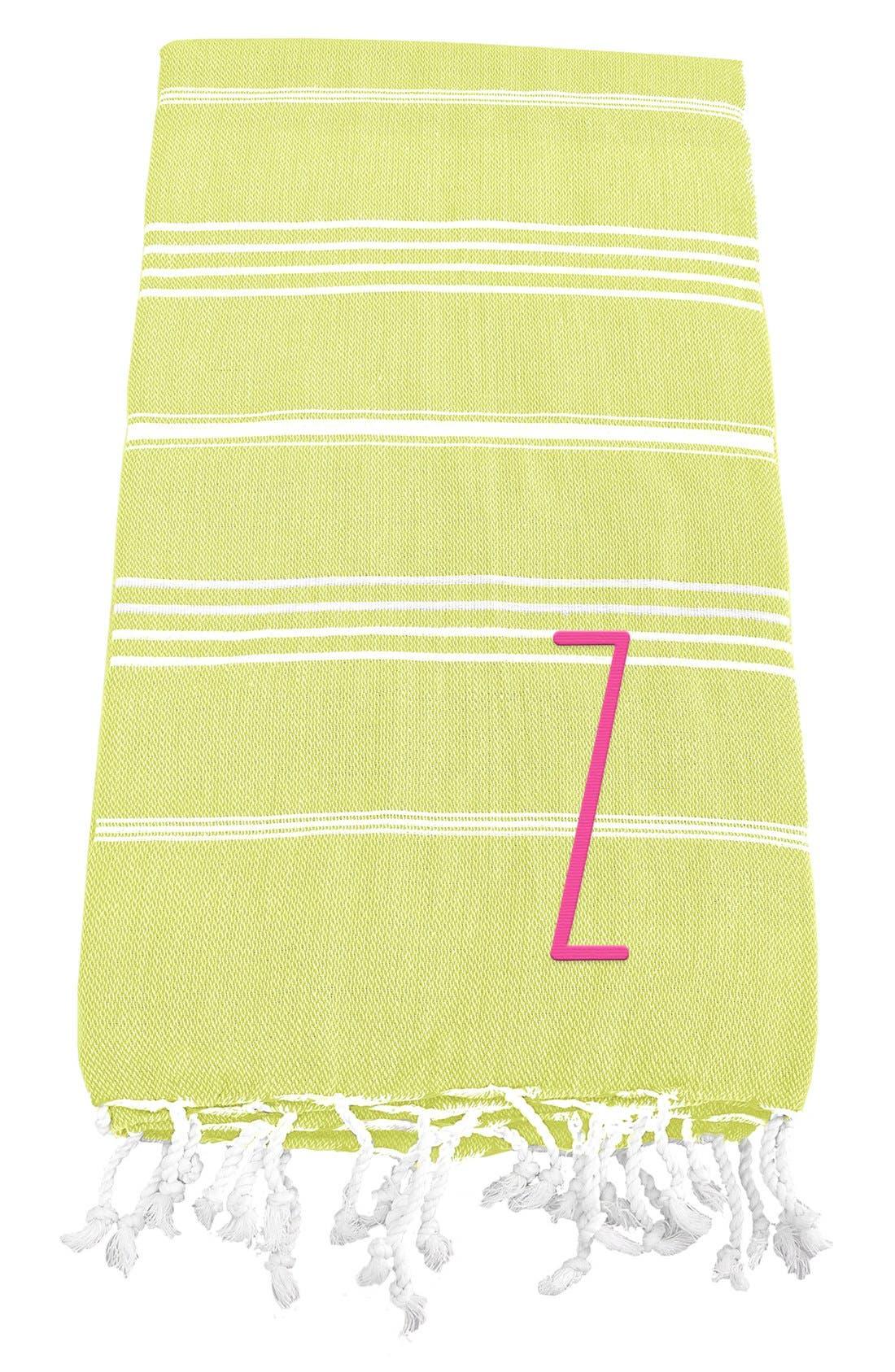 Monogram Turkish Cotton Towel,                             Main thumbnail 55, color,
