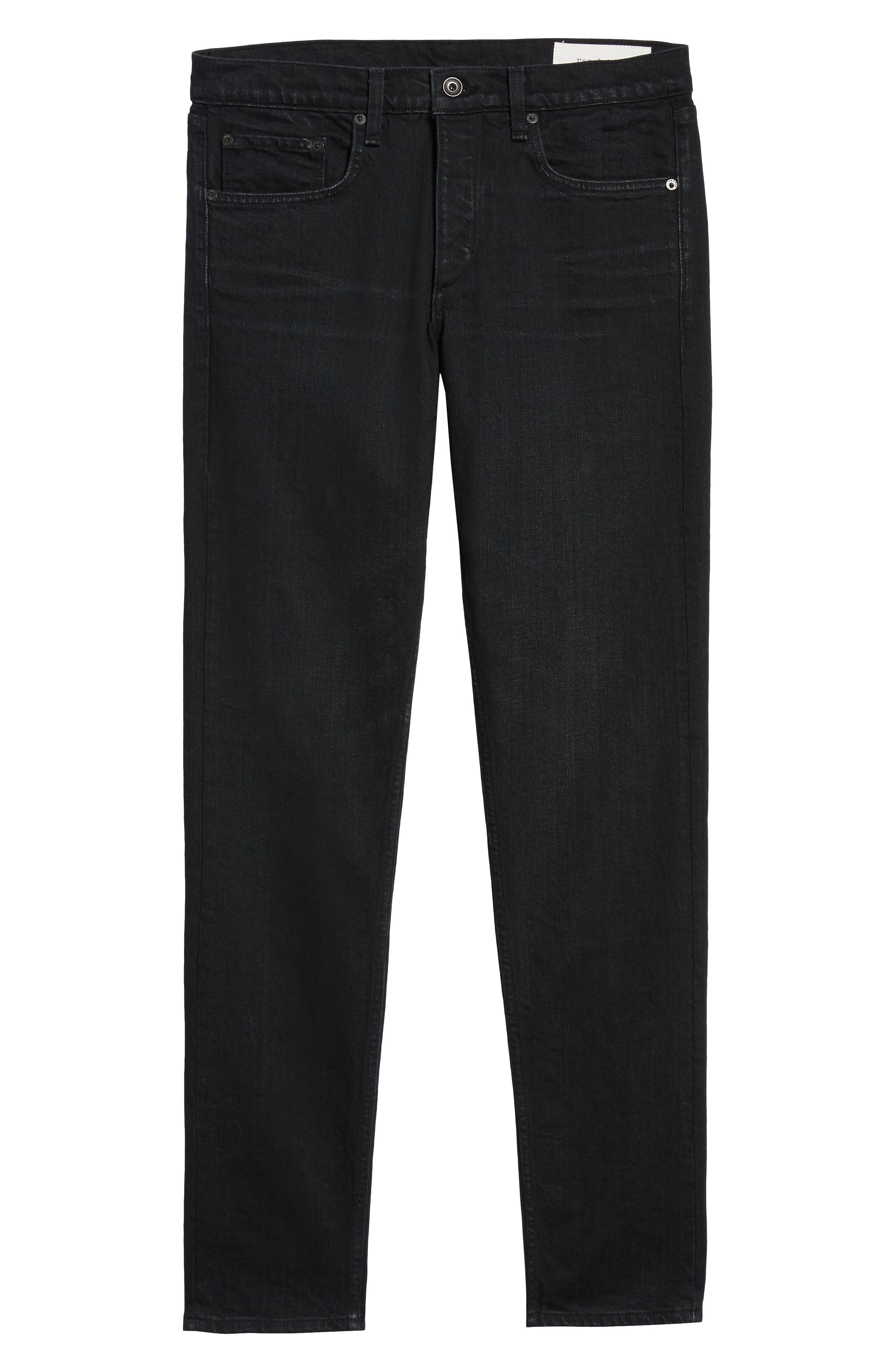 Fit 1 Skinny Fit Jeans,                             Alternate thumbnail 6, color,                             DEVON
