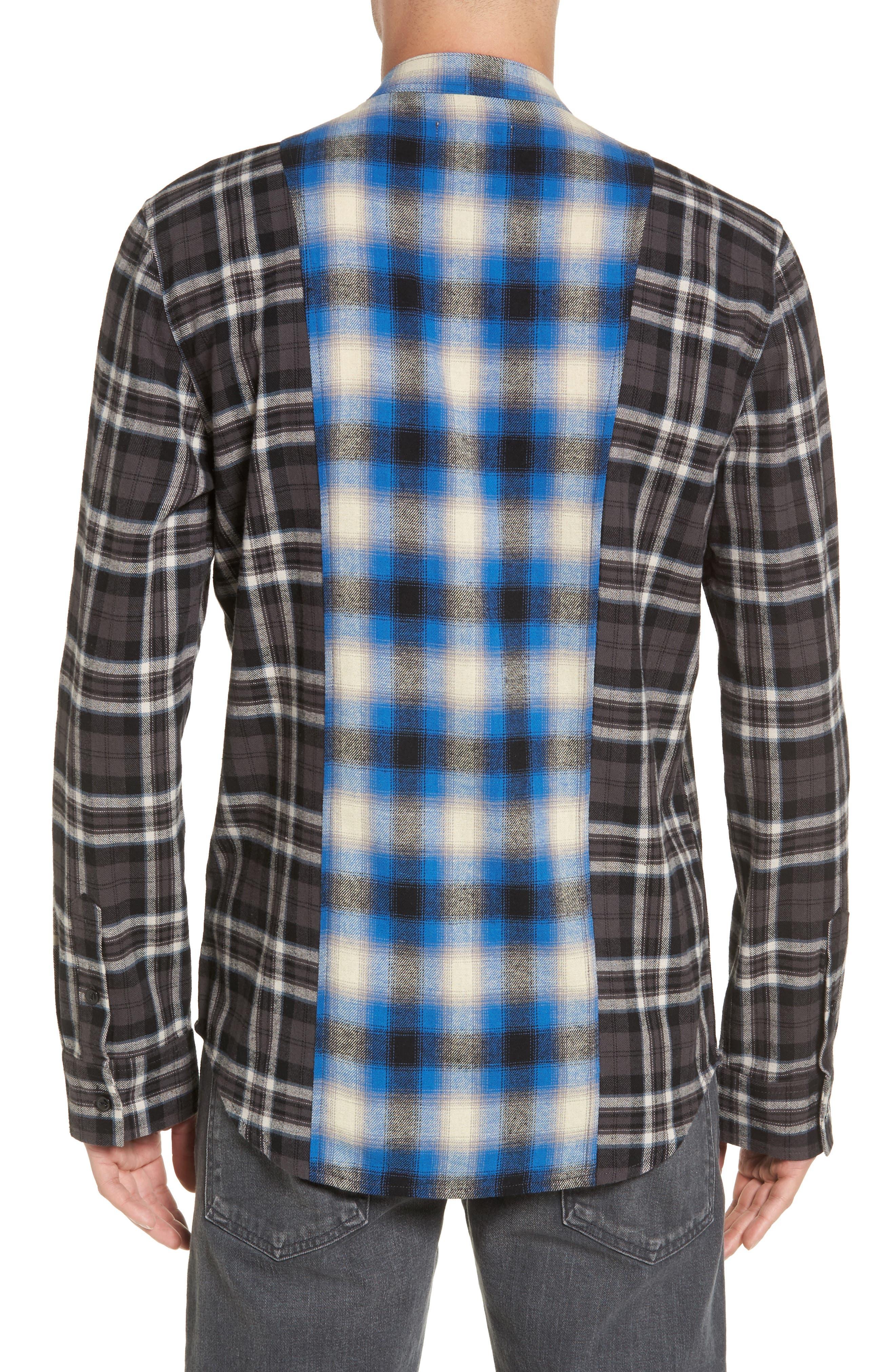 Multi Plaid Woven Shirt,                             Alternate thumbnail 2, color,                             001
