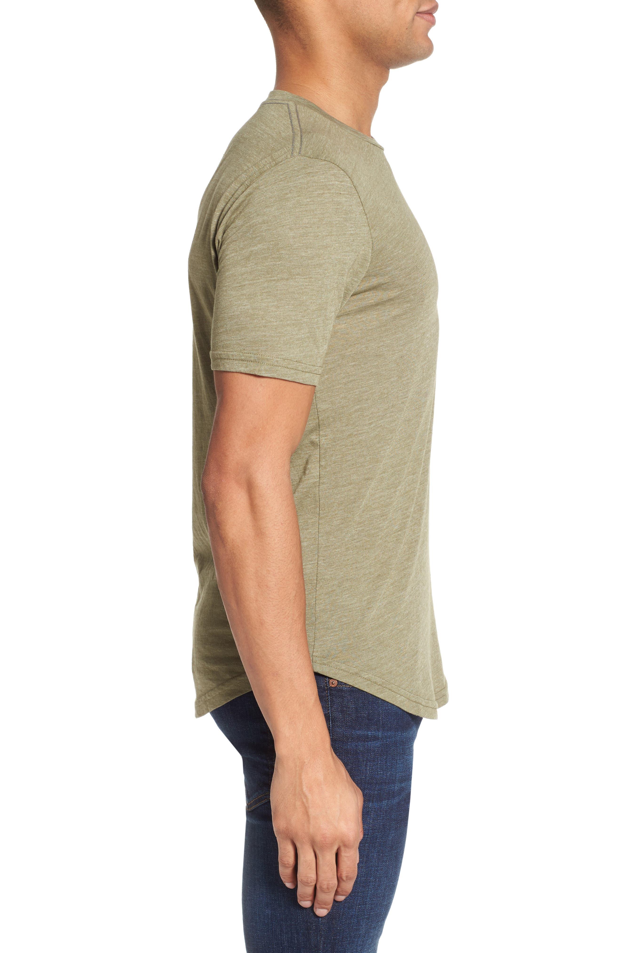 Scallop Triblend Crewneck T-Shirt,                             Alternate thumbnail 50, color,