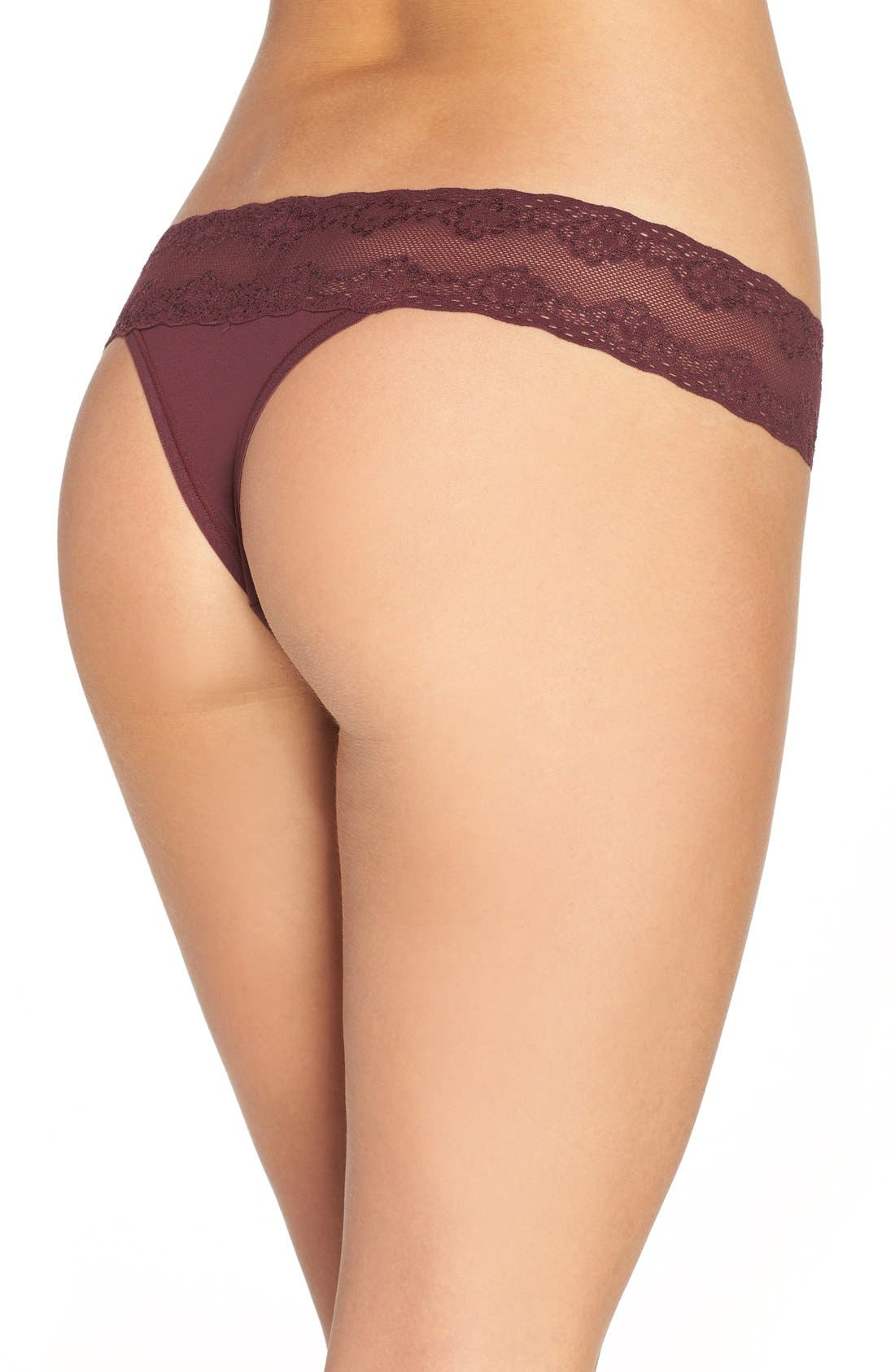Bliss Perfection Thong,                             Alternate thumbnail 173, color,