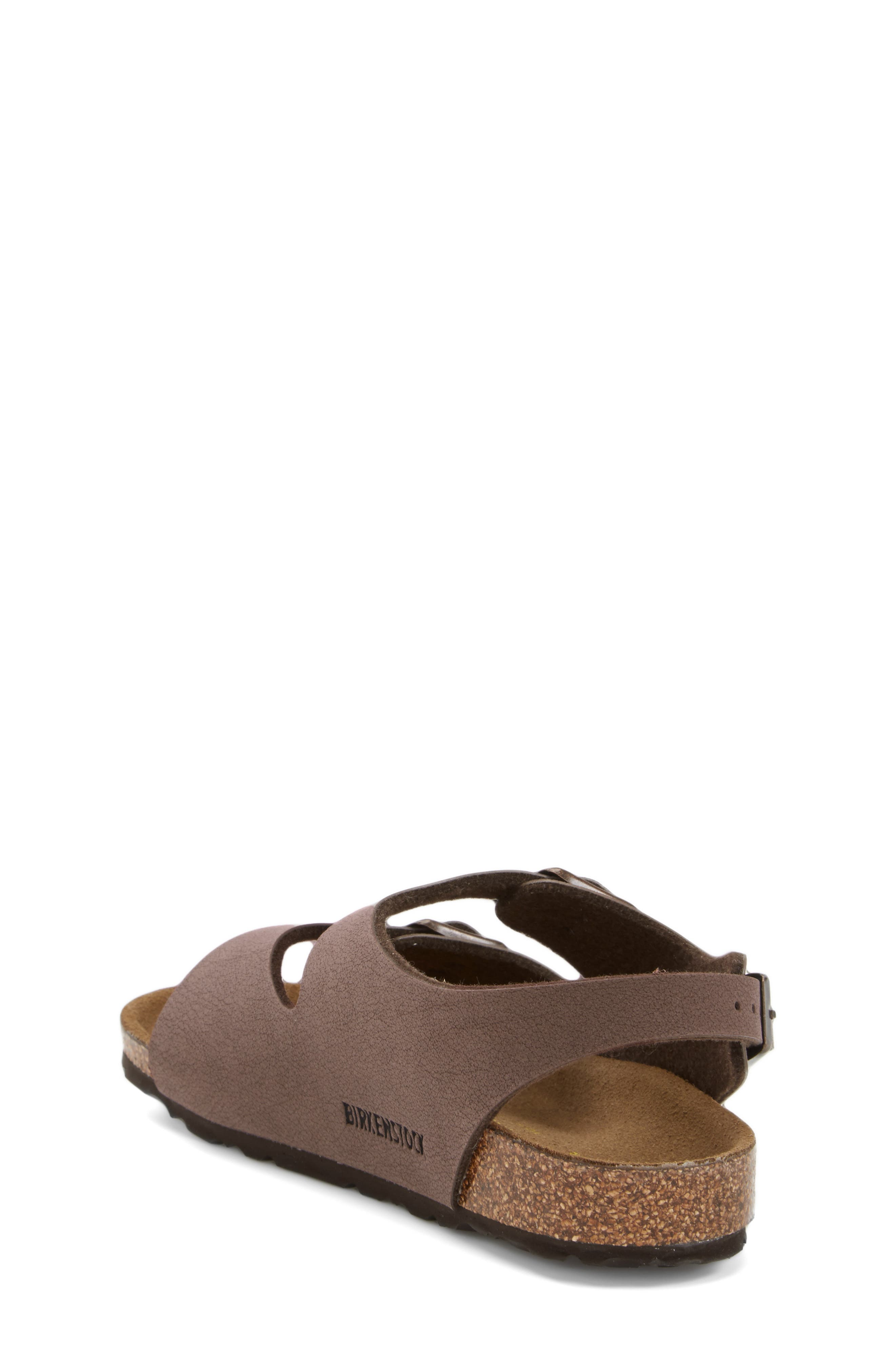 'Roma' Sandal,                             Alternate thumbnail 2, color,                             MOCHA