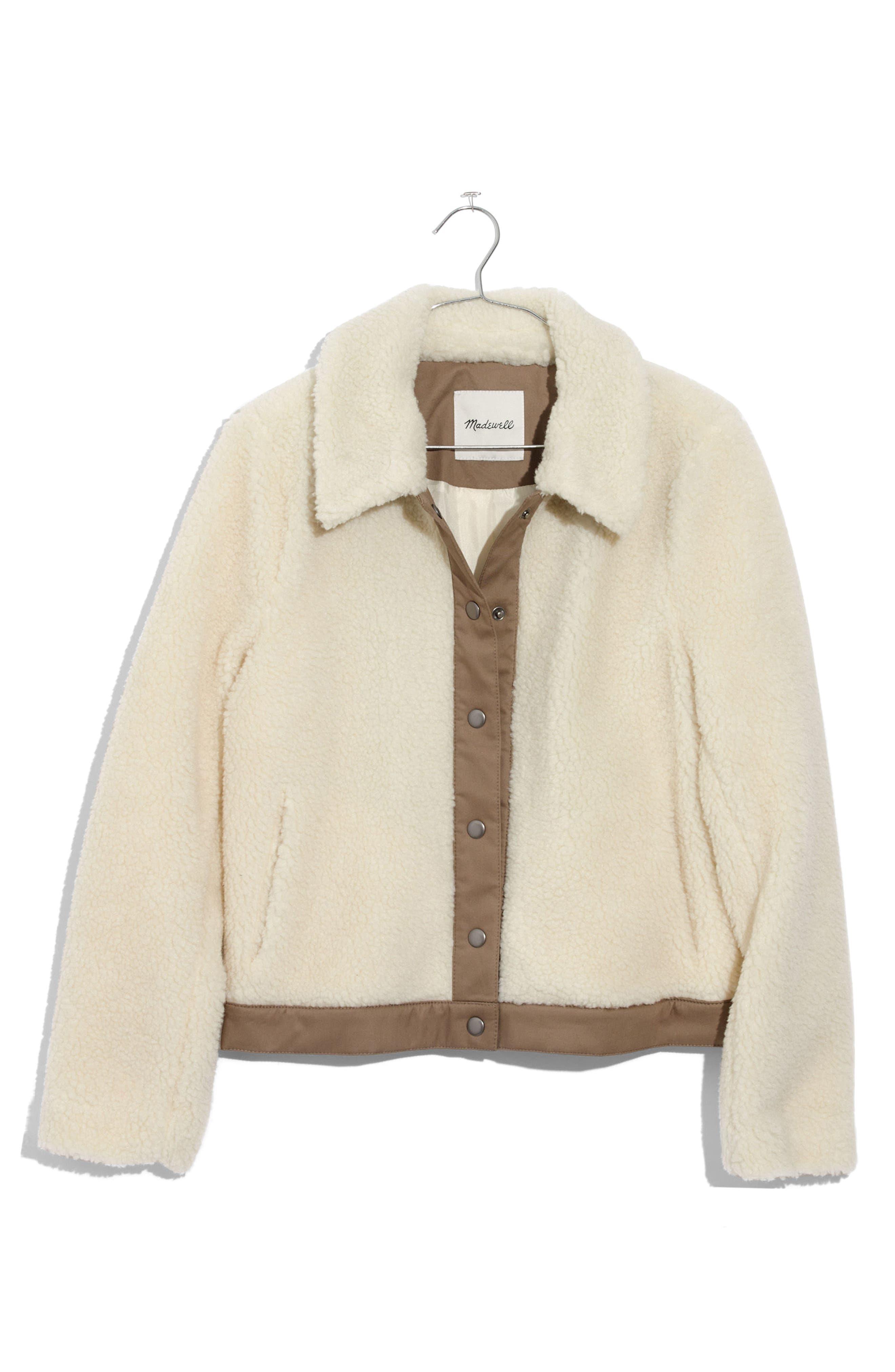 Portland Fleece Jacket,                             Alternate thumbnail 3, color,                             110