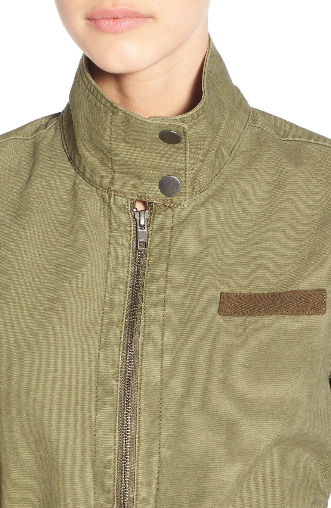 BP.,                             Cotton Field Jacket,                             Alternate thumbnail 4, color,                             311