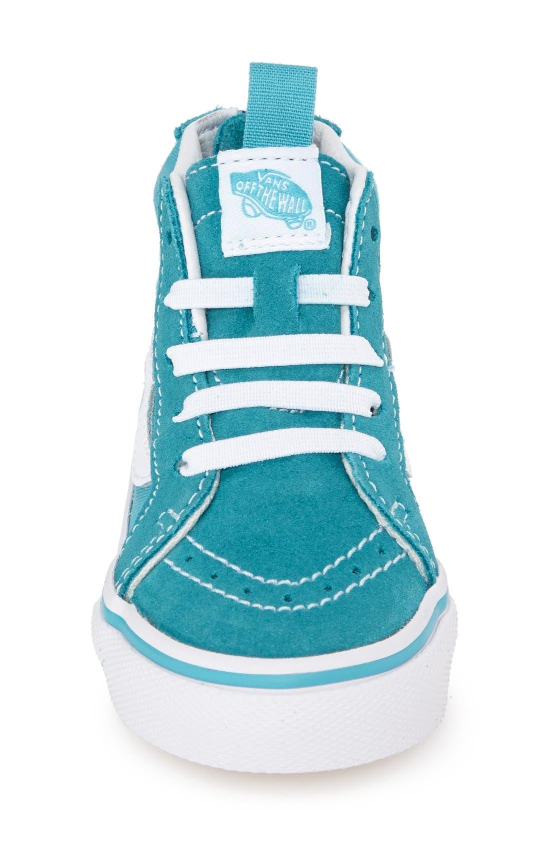 'Sk8-Hi' Zip Sneaker,                             Alternate thumbnail 16, color,