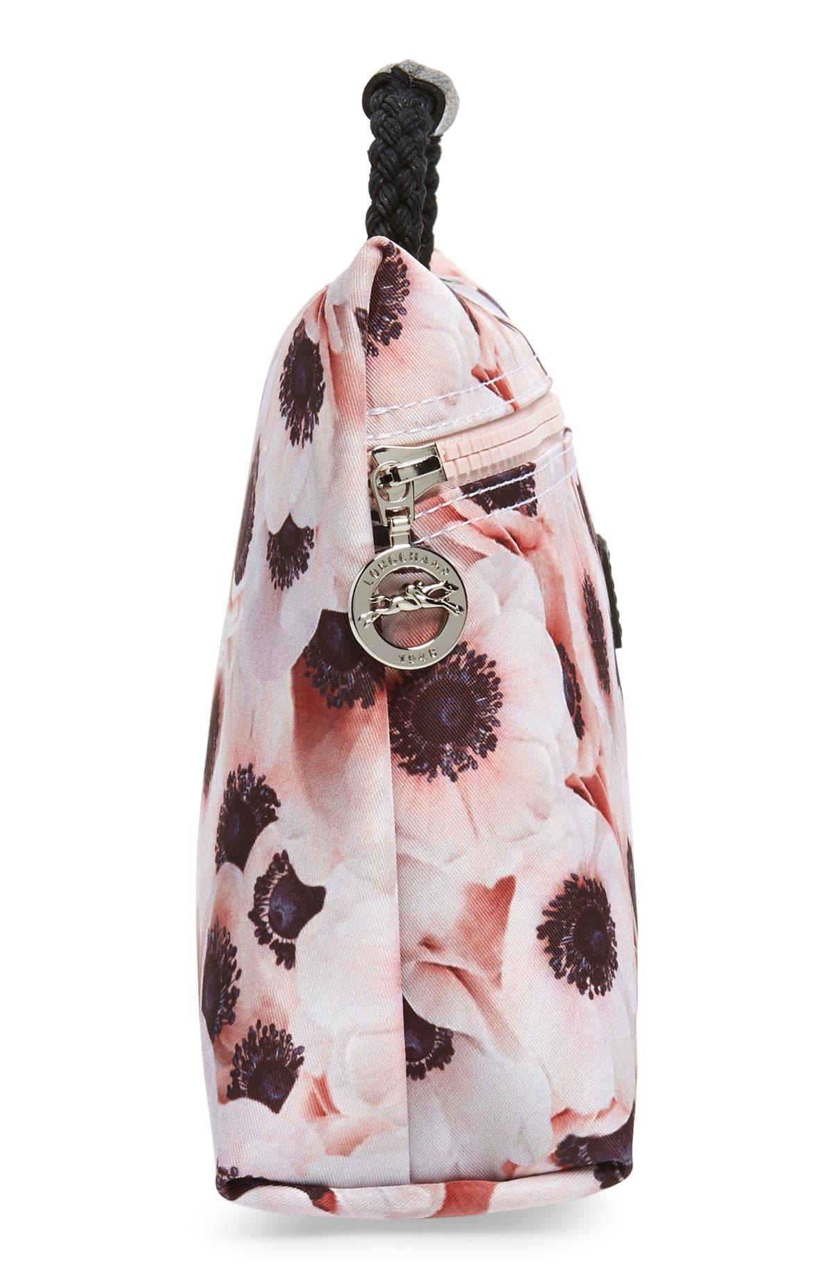 e5a7f0cb5d19 Longchamp Le Pliage Anemone Nylon Cosmetics Case
