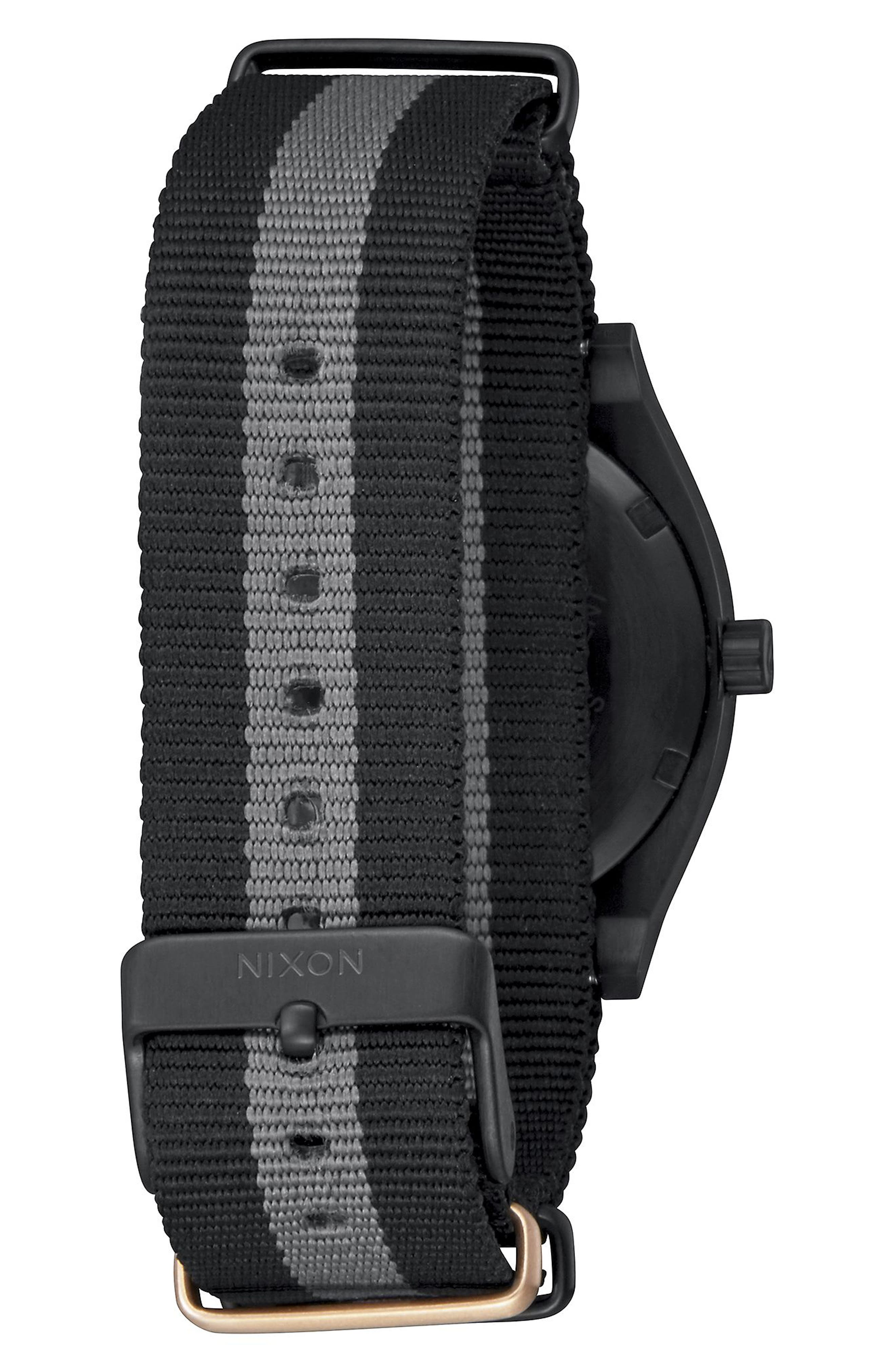 The Time Teller NATO Strap Watch, 37mm,                             Alternate thumbnail 4, color,
