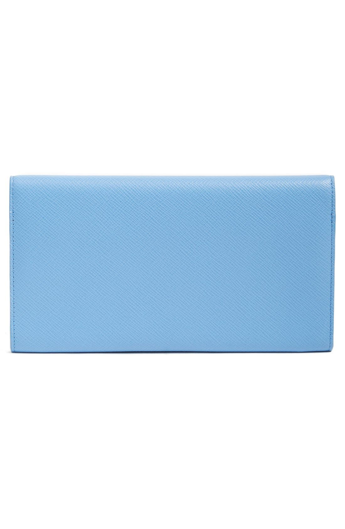 'Panama Marshall' Travel Wallet,                             Alternate thumbnail 4, color,                             NILE BLUE