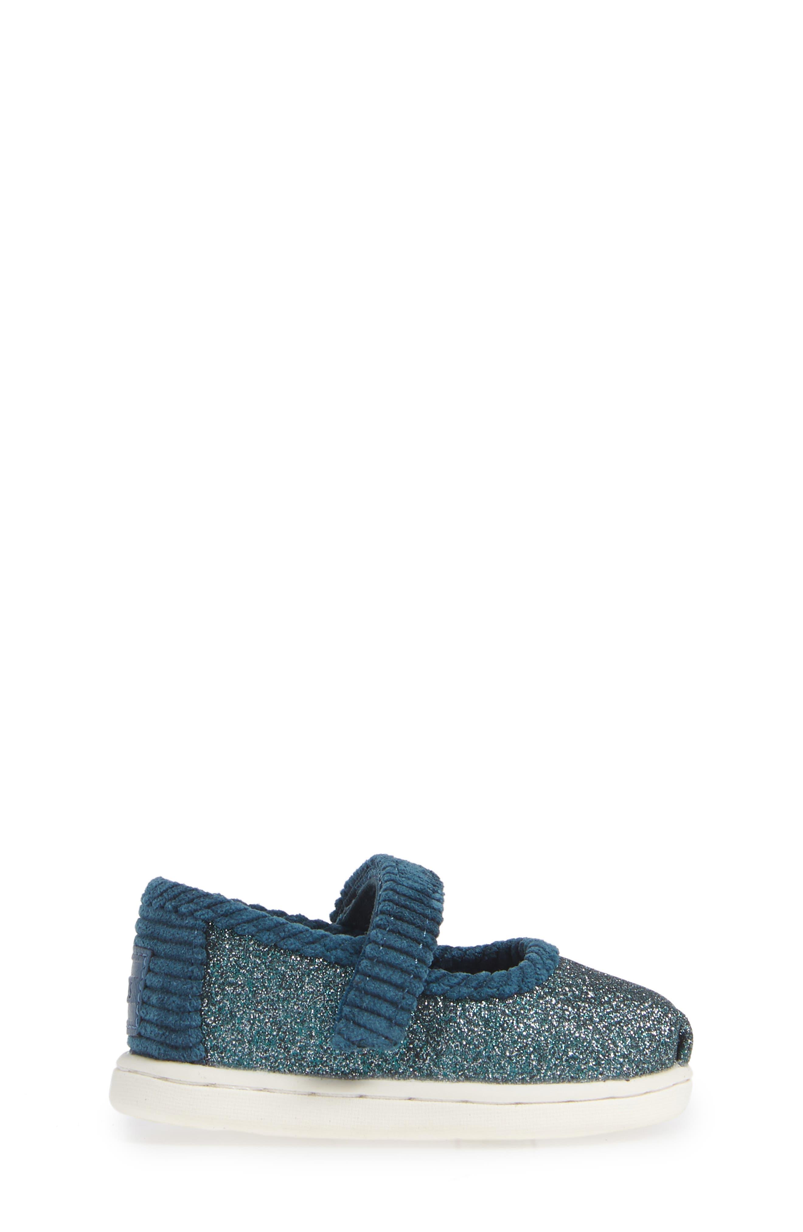 Mary Jane Sneaker,                             Alternate thumbnail 3, color,                             ATLANTIC IRIDESCENT/ CORDUROY