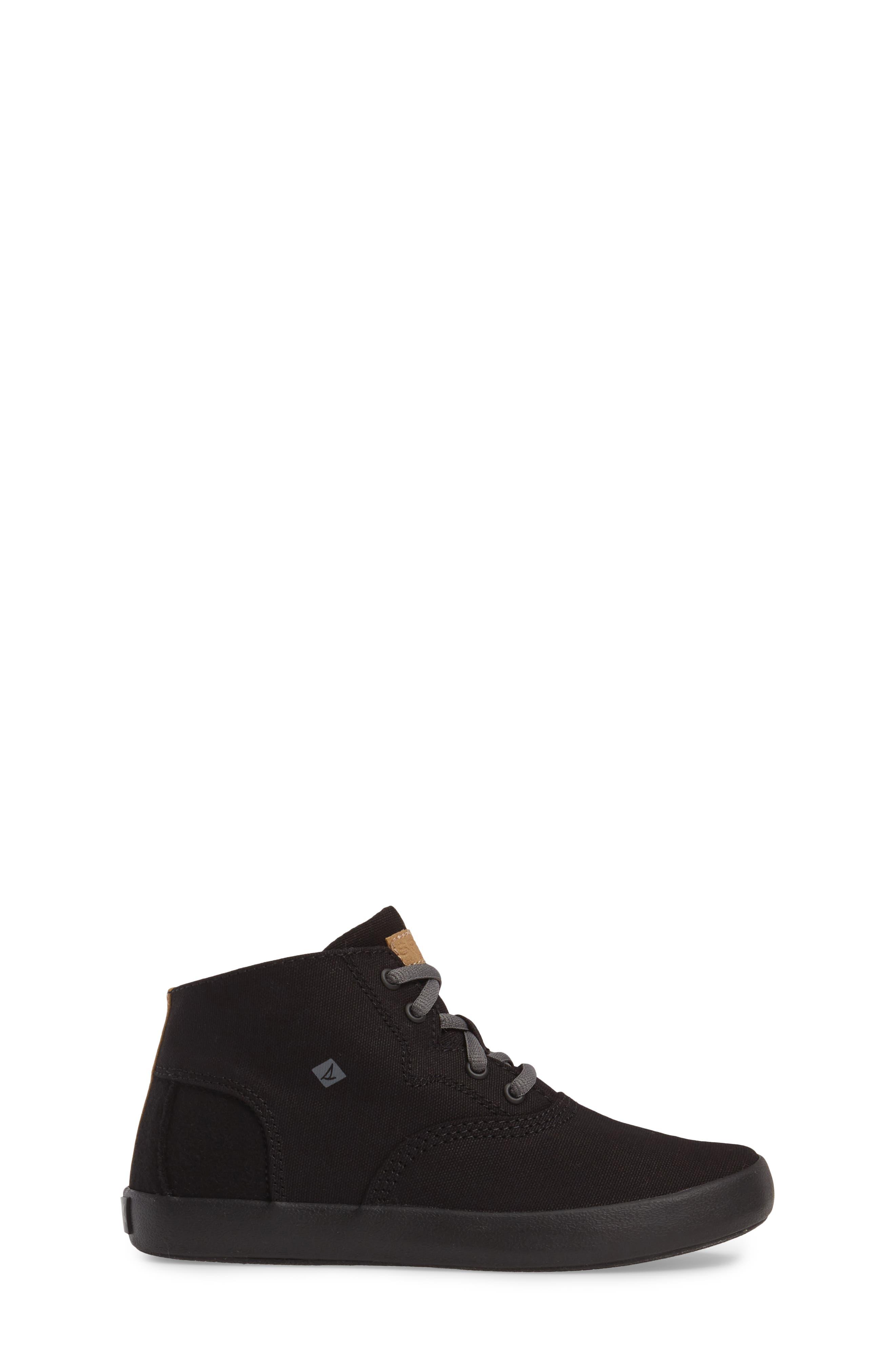 Wahoo Mid-Top Sneaker,                             Alternate thumbnail 3, color,                             001
