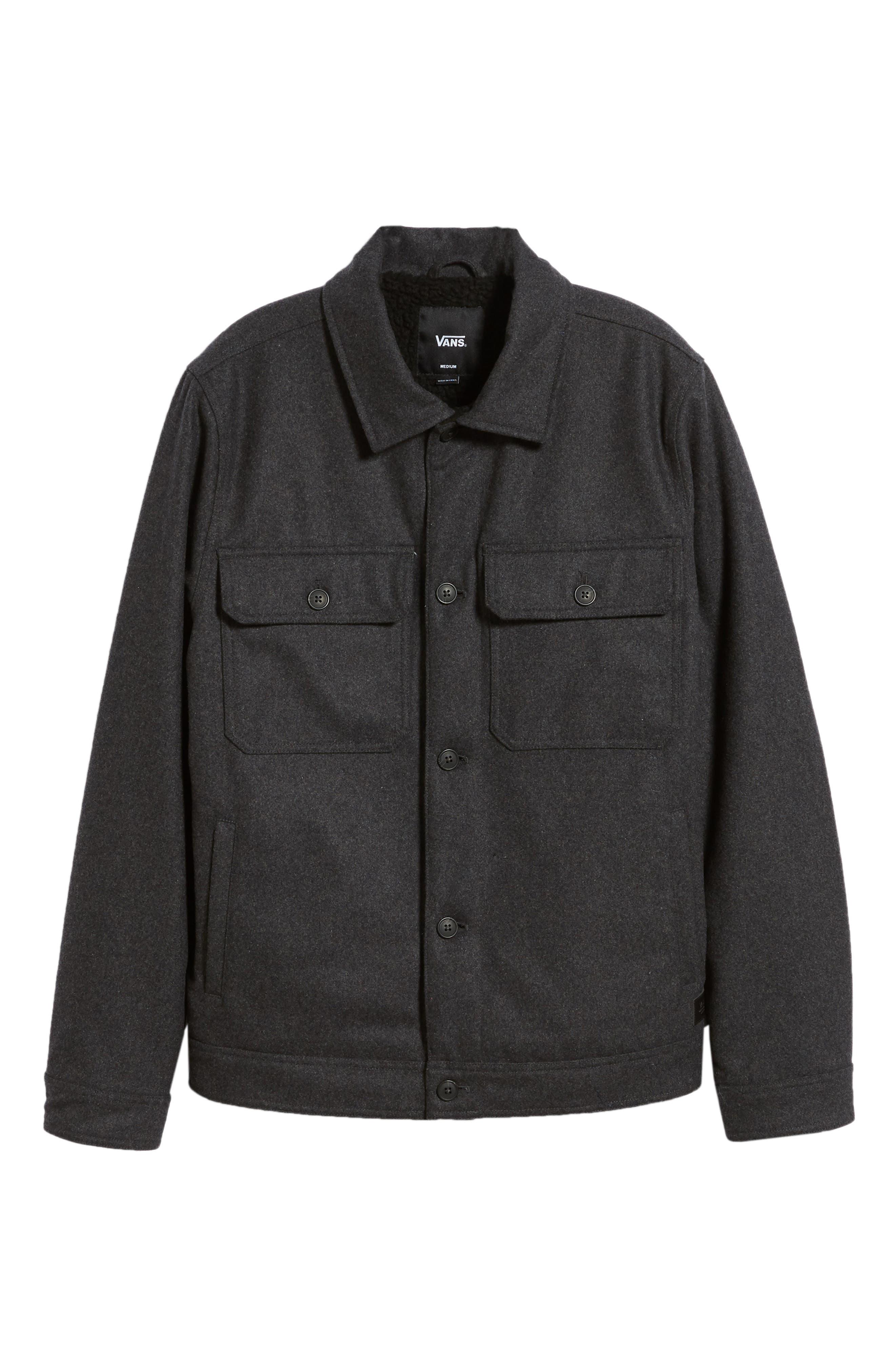 Rossmore Jacket,                             Alternate thumbnail 6, color,                             ASPHALT