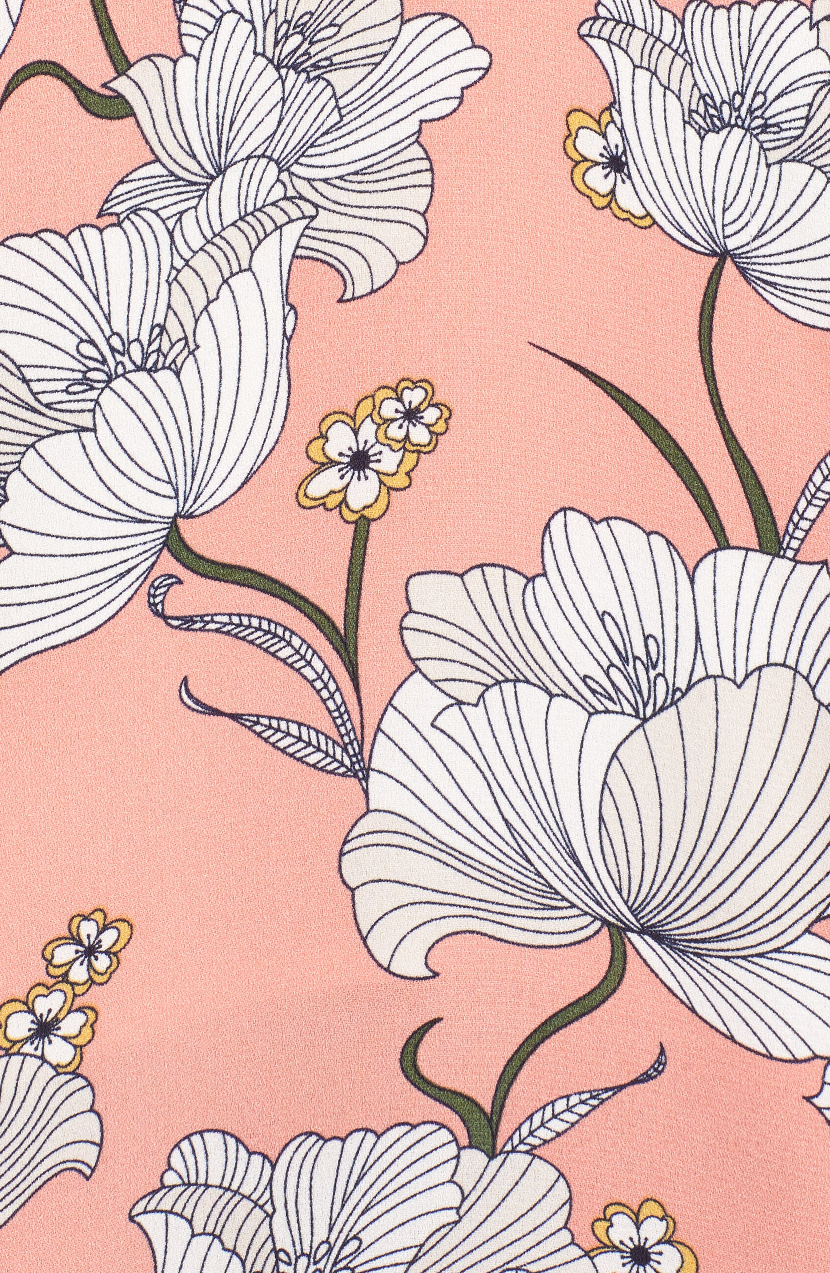 Floral Cutout Maxi Dress,                             Alternate thumbnail 5, color,                             650
