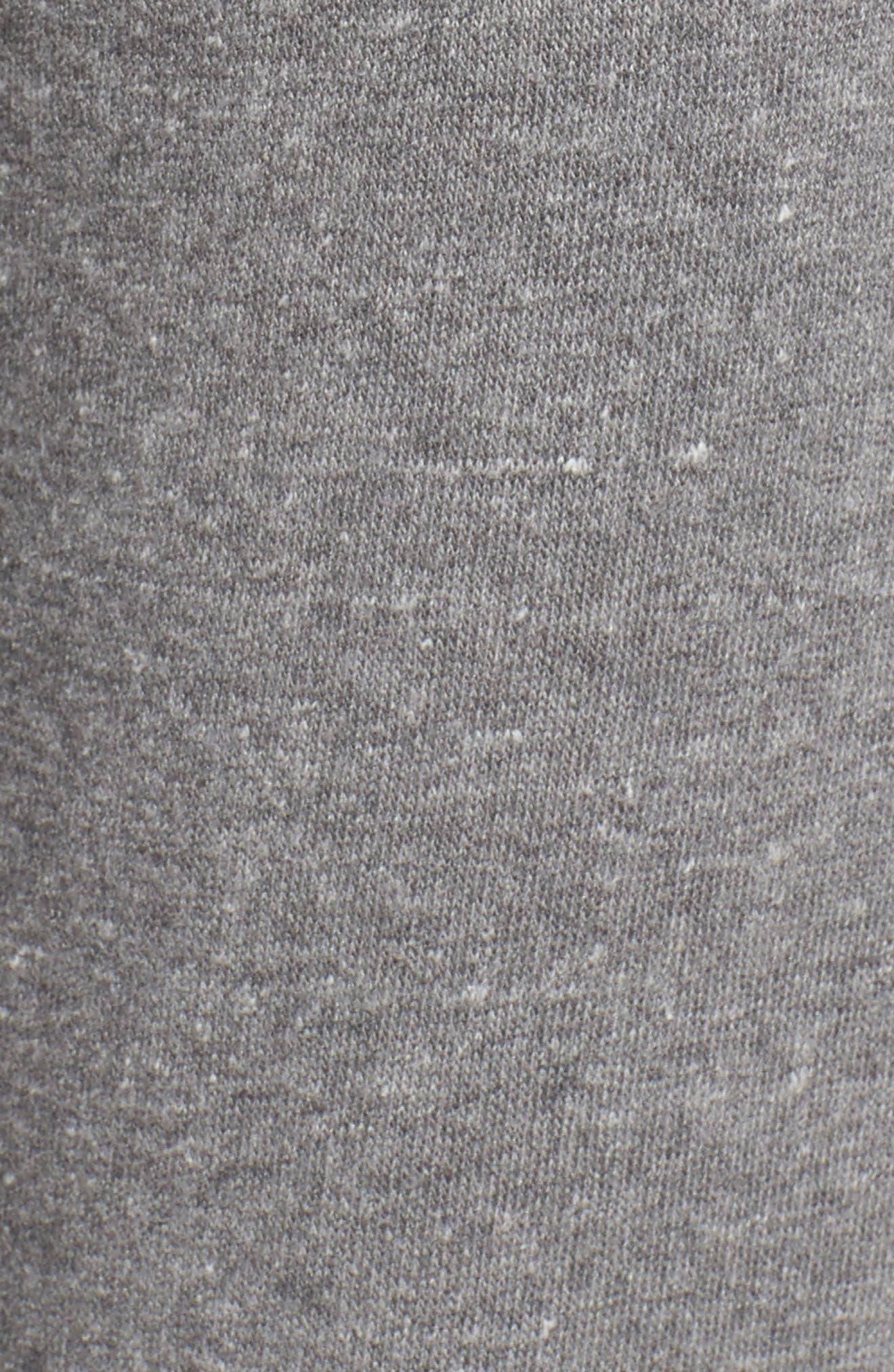 Distressed Eco Fleece Jogger Pants,                             Alternate thumbnail 5, color,                             039