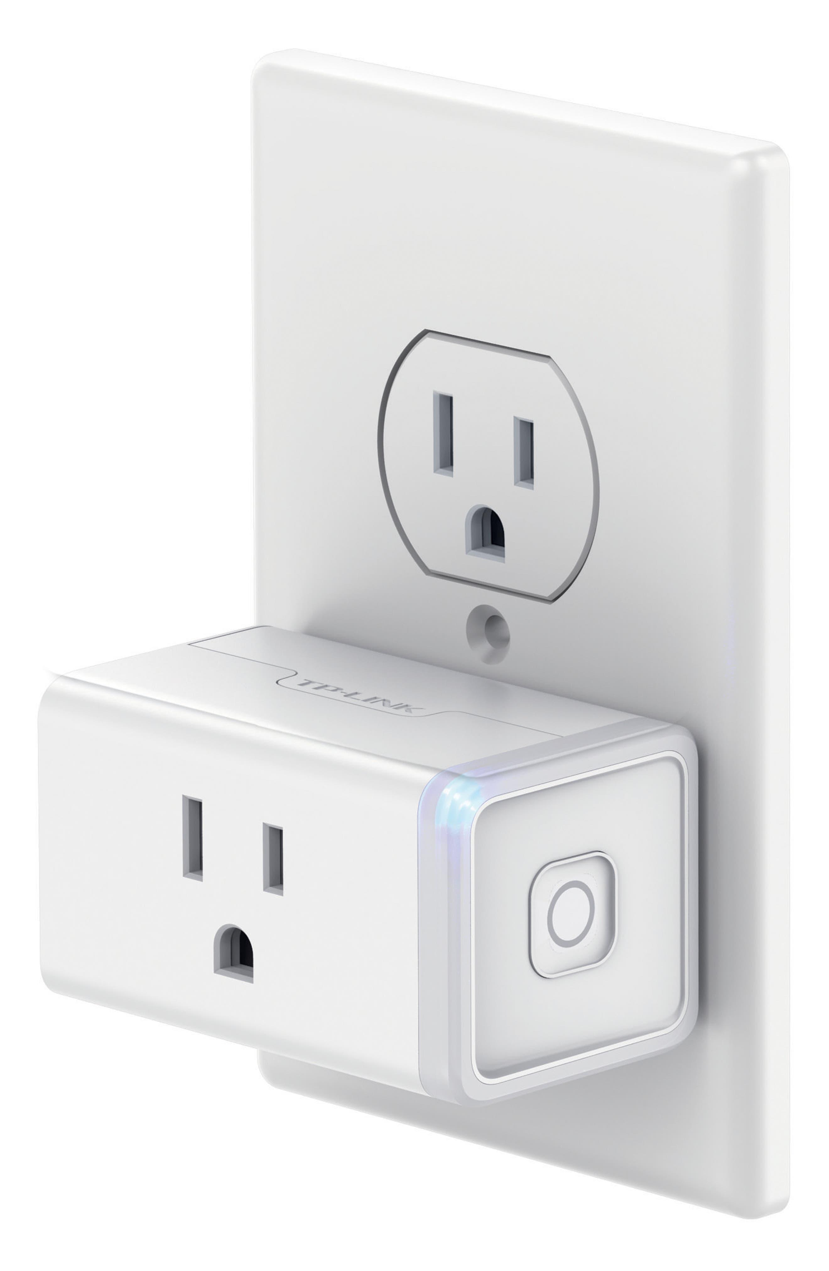 Smart Wi-Fi Mini Plug,                             Alternate thumbnail 4, color,                             WHITE