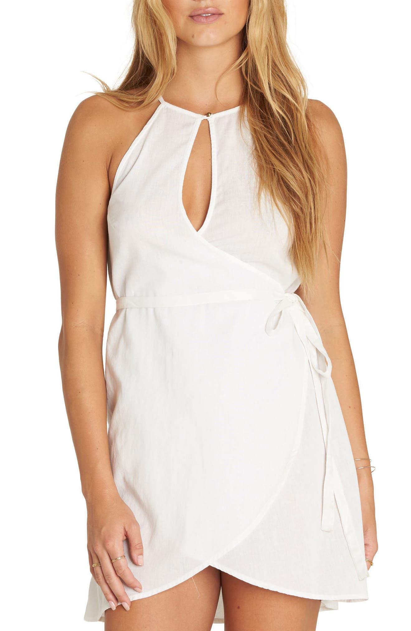 Aloha Baby Wrap Dress,                         Main,                         color,
