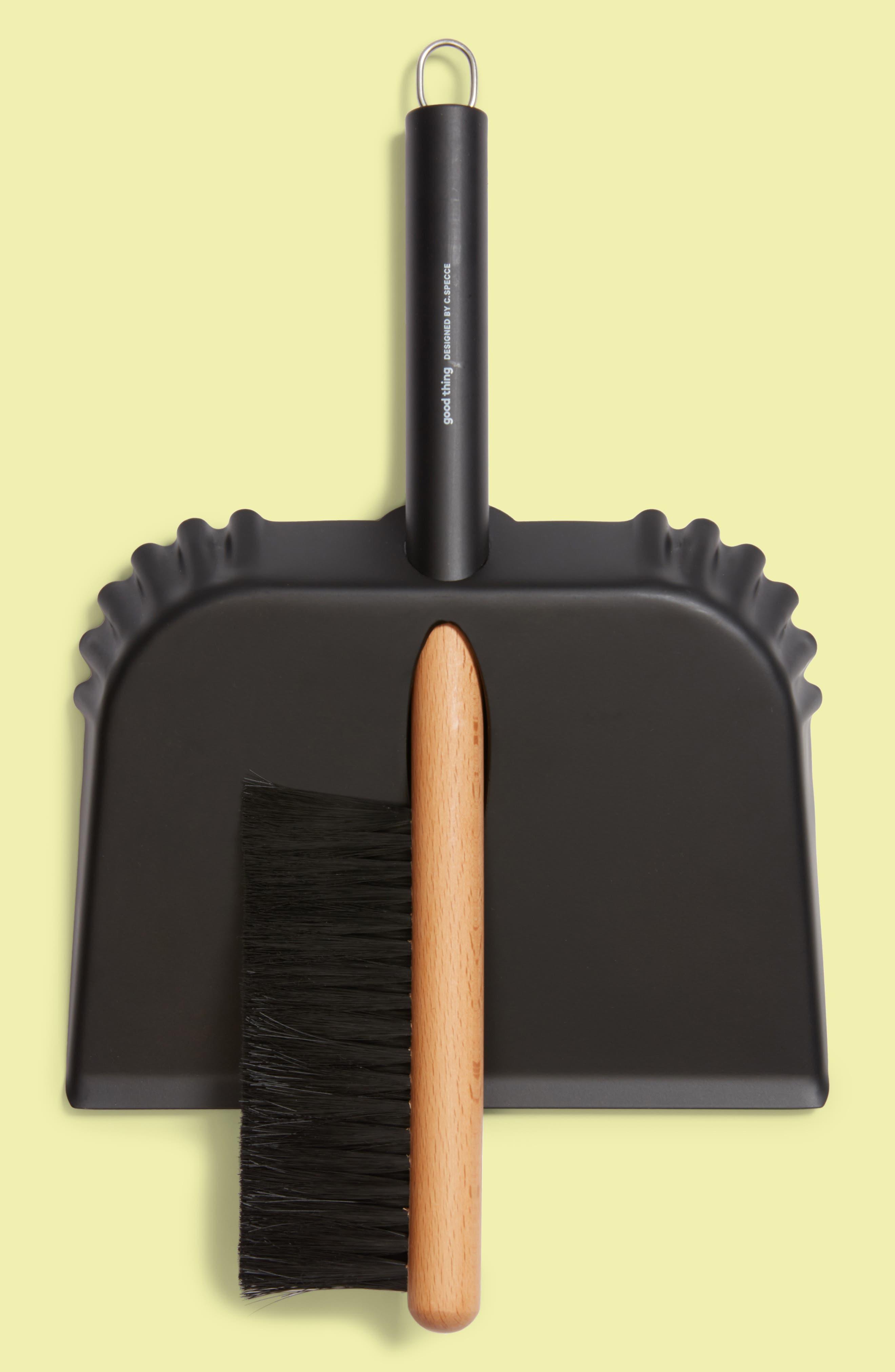 Richman Dustpan & Brush Set,                             Alternate thumbnail 2, color,                             001