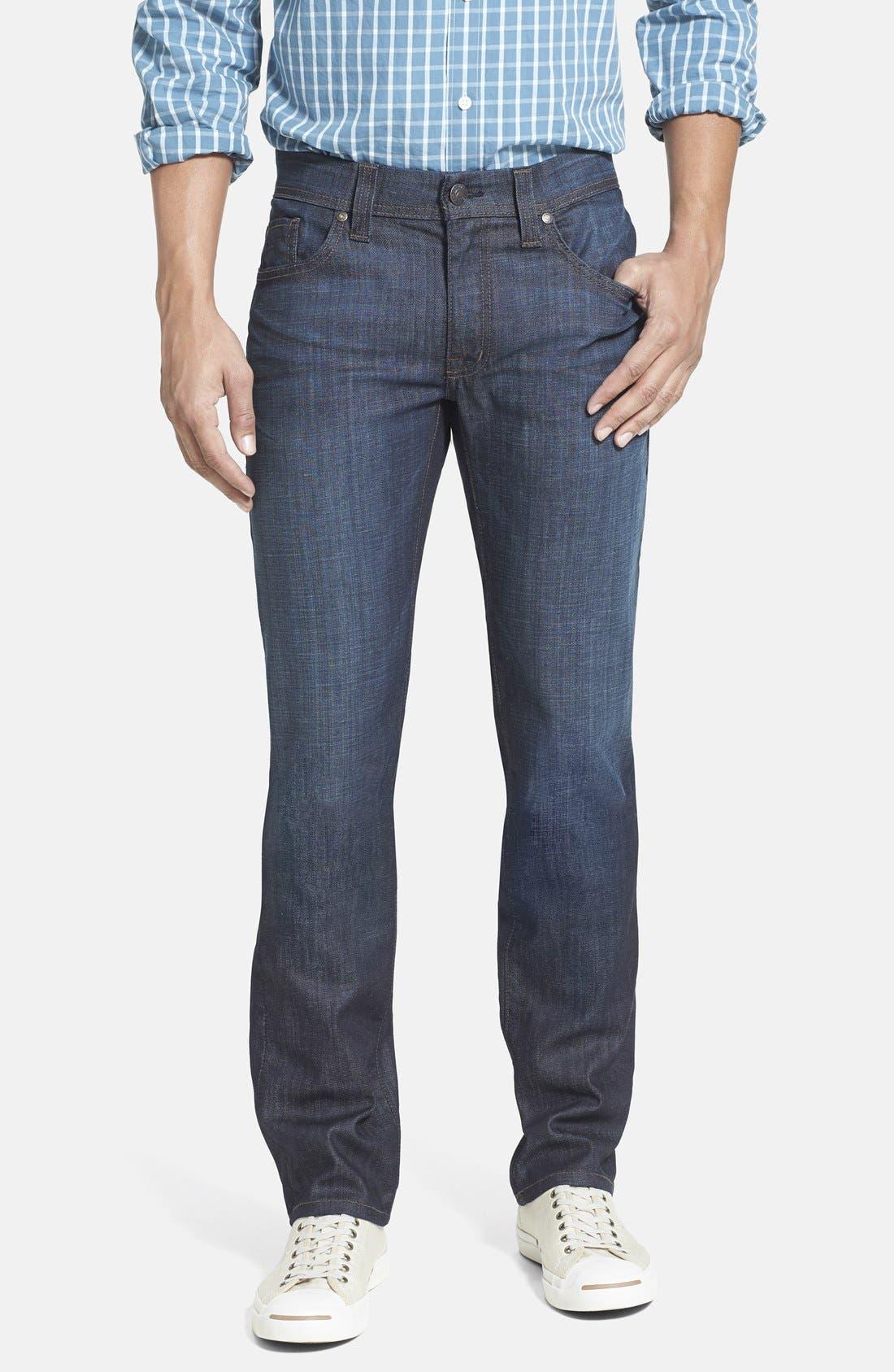 'Jimmy' Slim Straight Leg Jeans,                             Main thumbnail 1, color,                             400