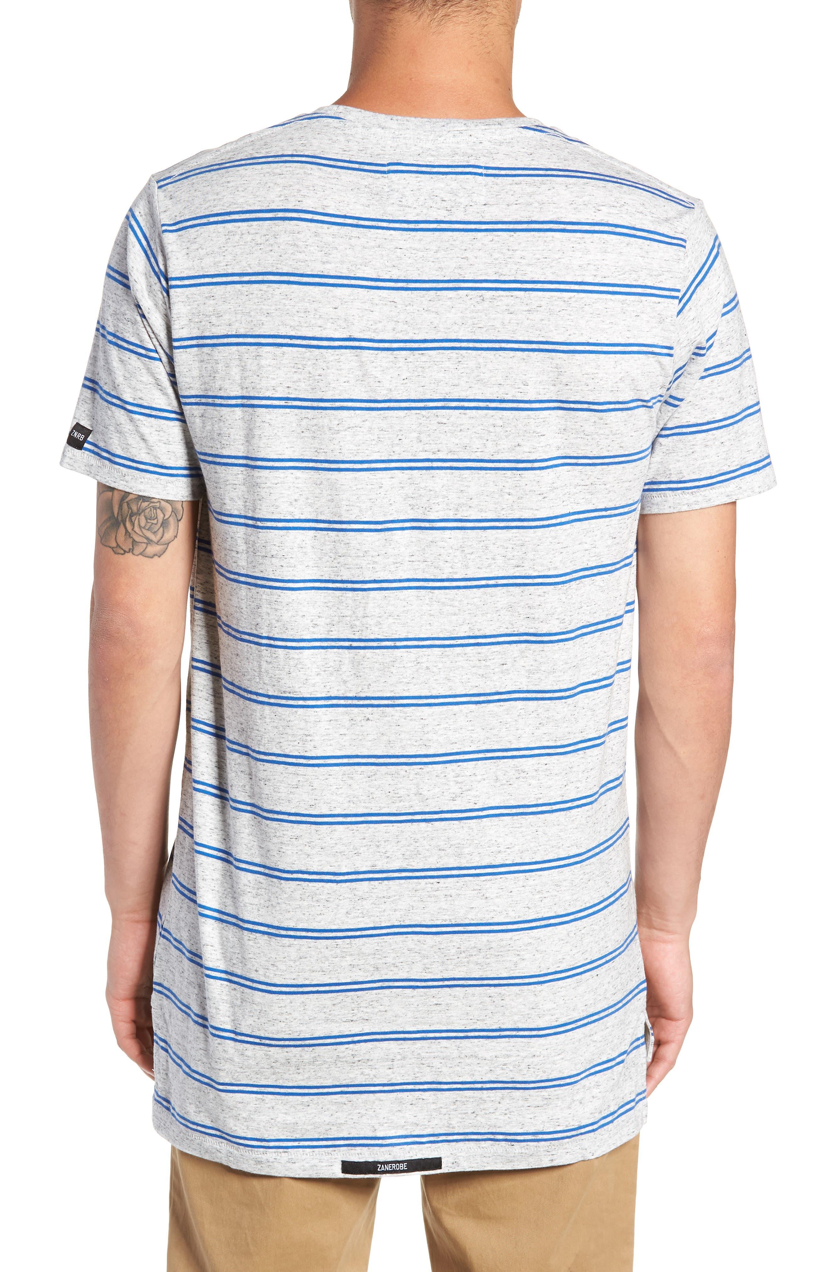 Flintlock T-Shirt,                             Alternate thumbnail 2, color,                             STORM MARLE/ COBALT